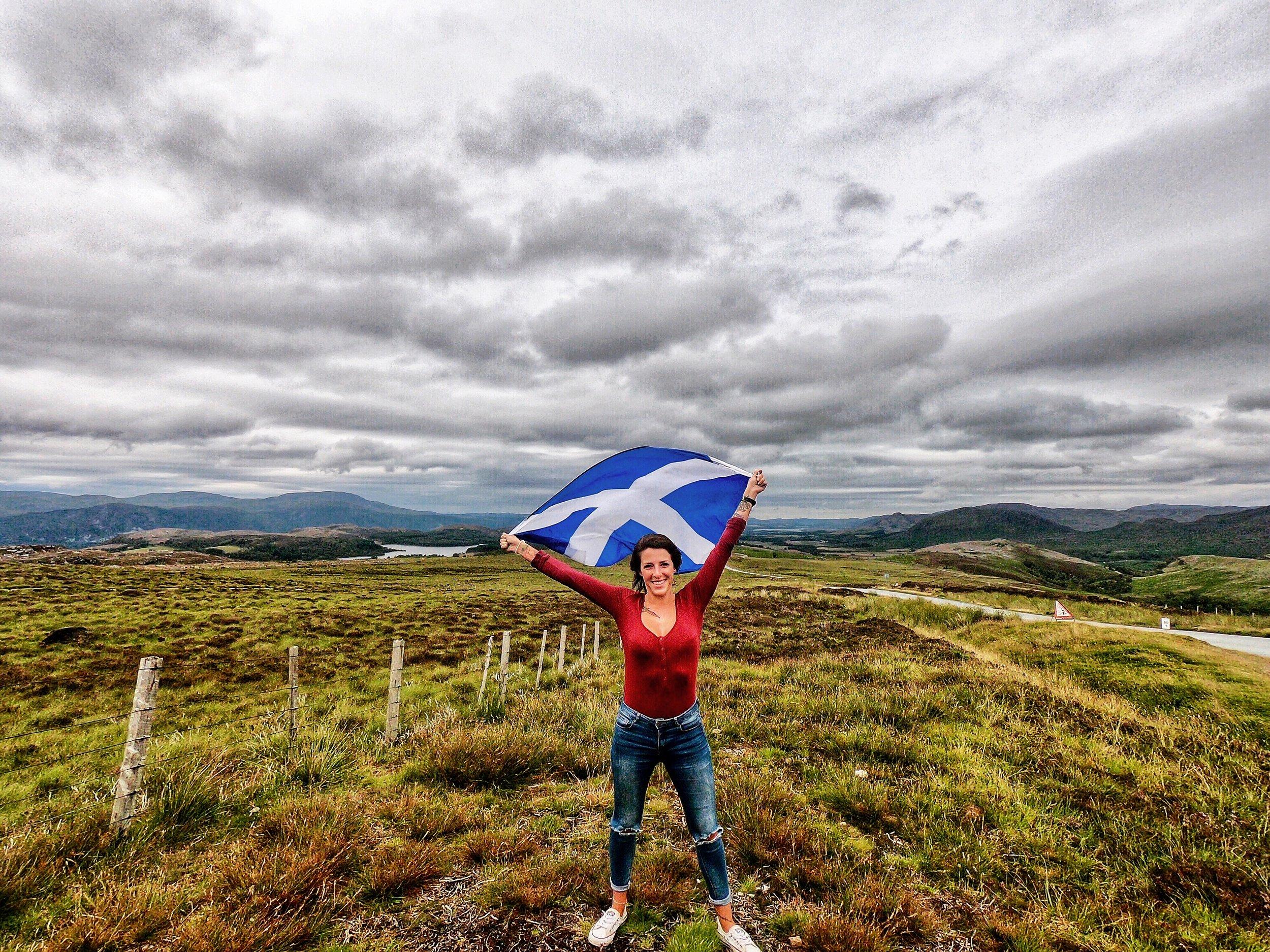 scotch flag