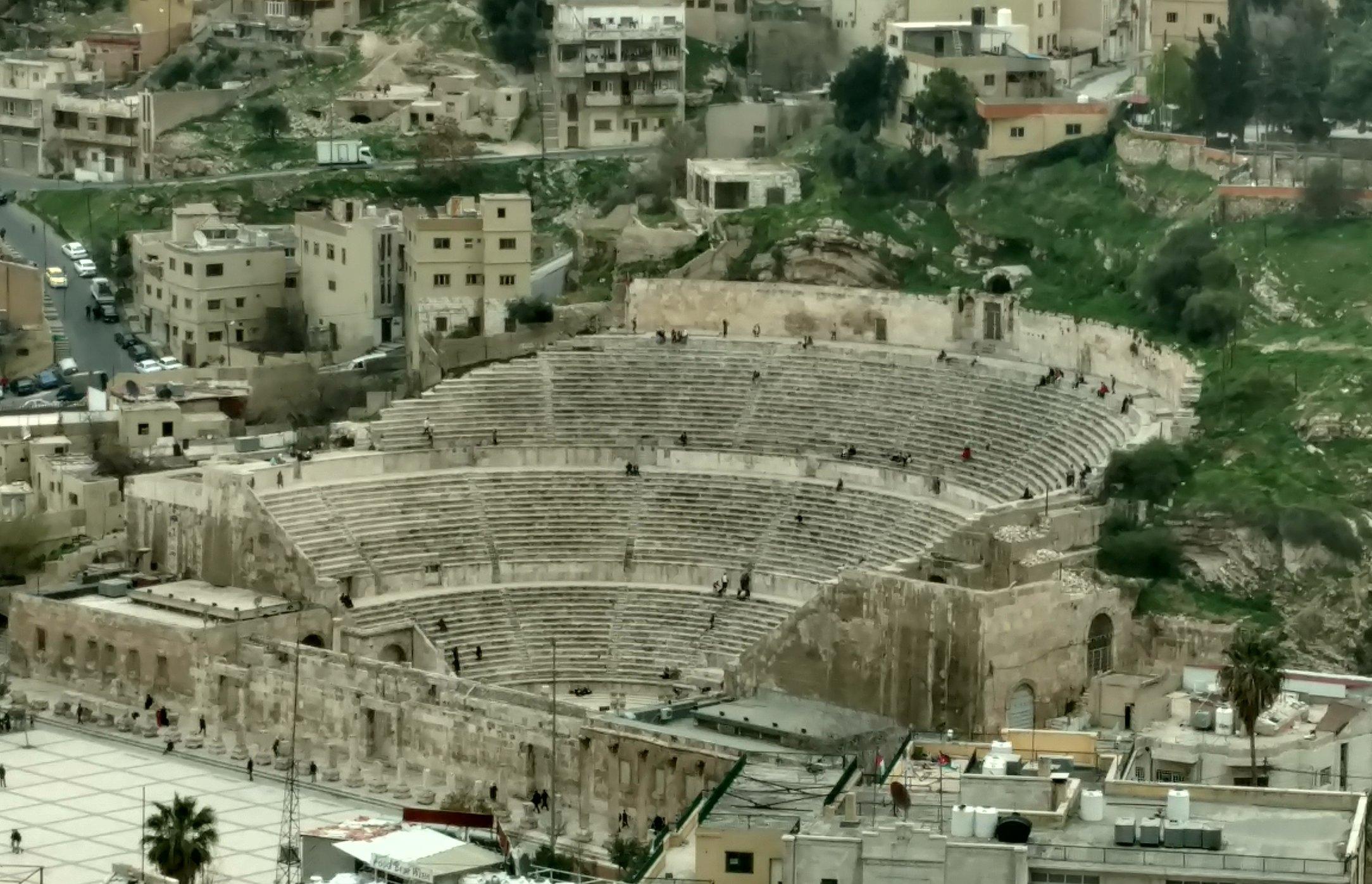 Amman Jordan, Roman Amphitheater