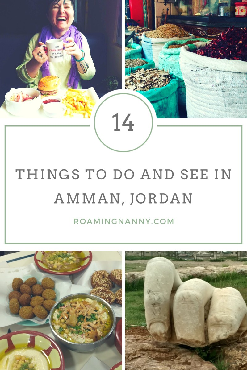Amman, Jordan is full of amazing things to do, eat, and see. #visitjordan #amman #jordan #ammanjordan #middleeast