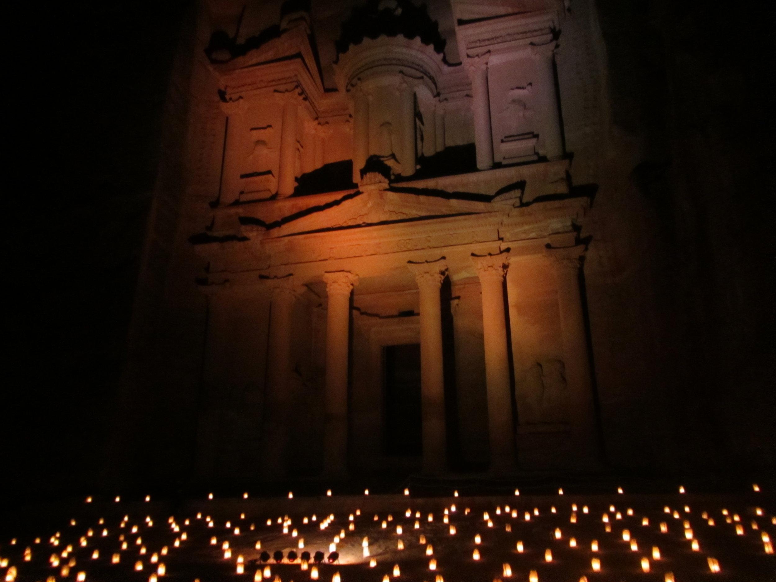 Petra Jordan, By Night