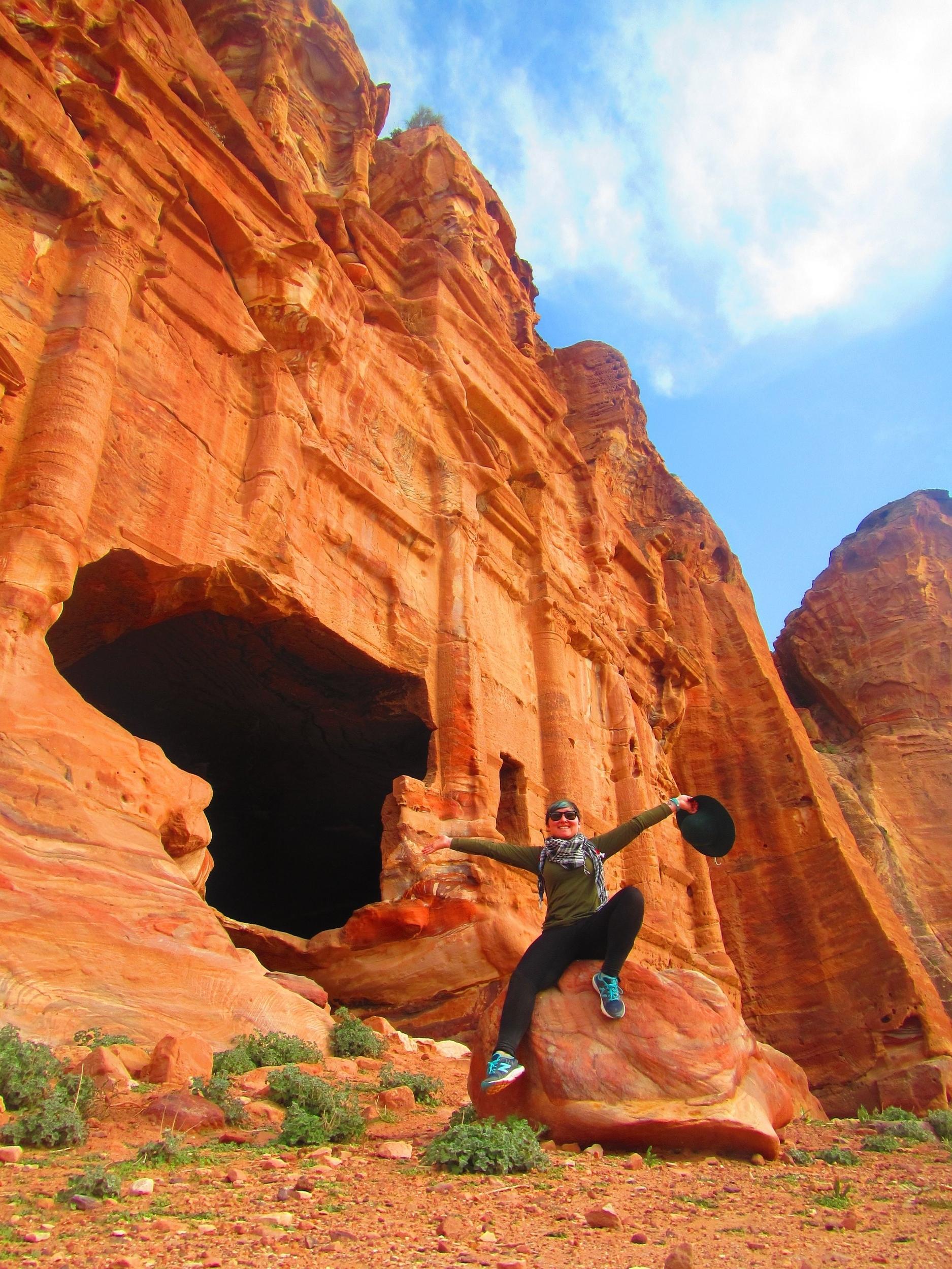 Inside Petra, Jordan