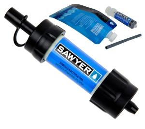 Fall weekend packing list - sawyer water filter