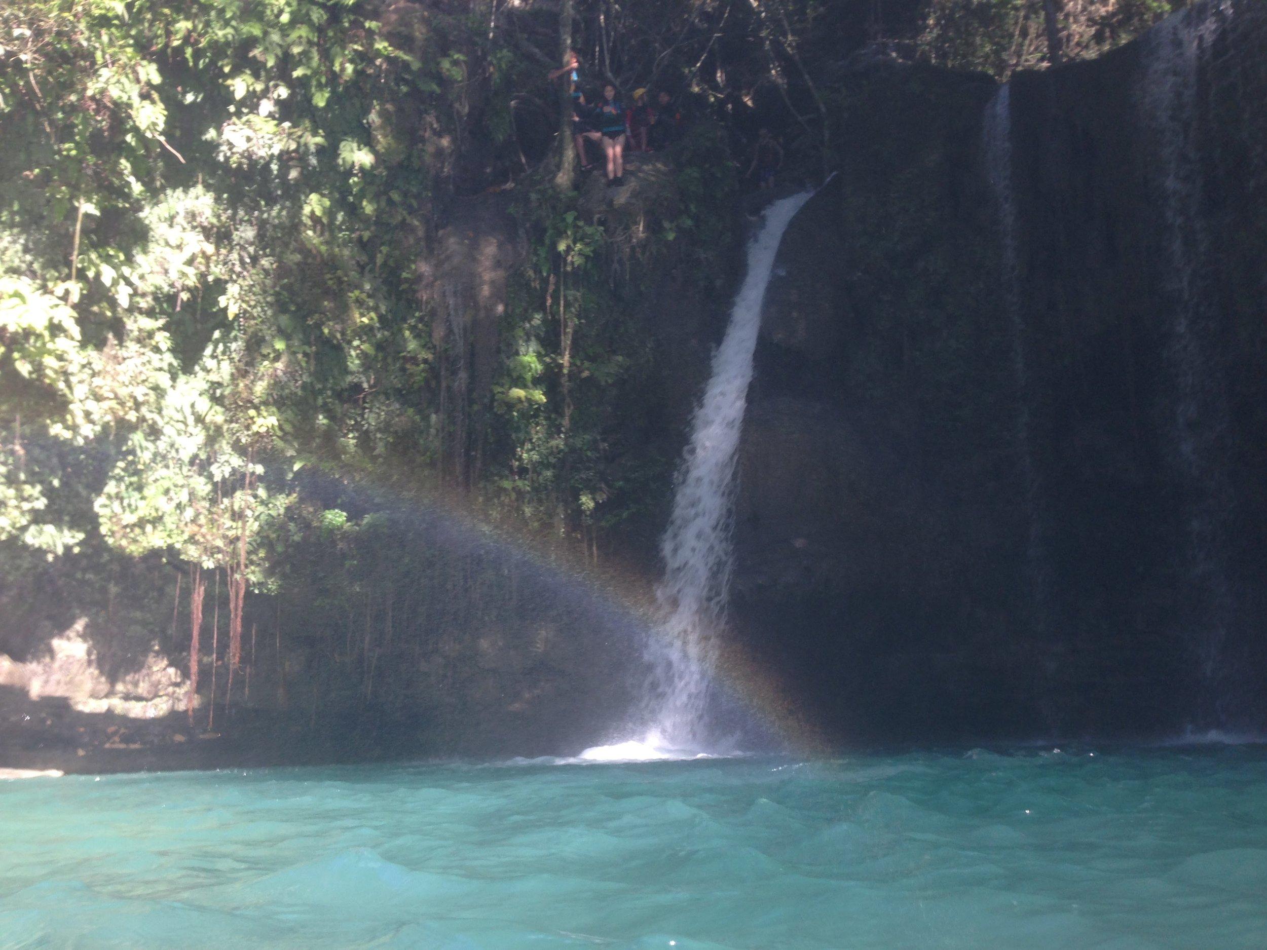 Canyoneering Kawasa waterfall Philippines - 4