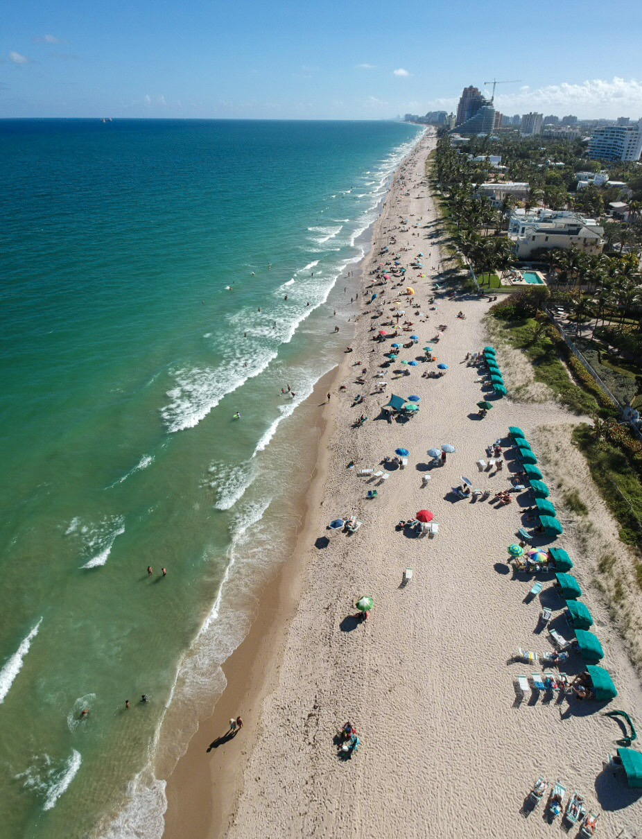Best Beaches to Beat the Winter Blues - Ft. Lauderdale Beach, Florida, USA