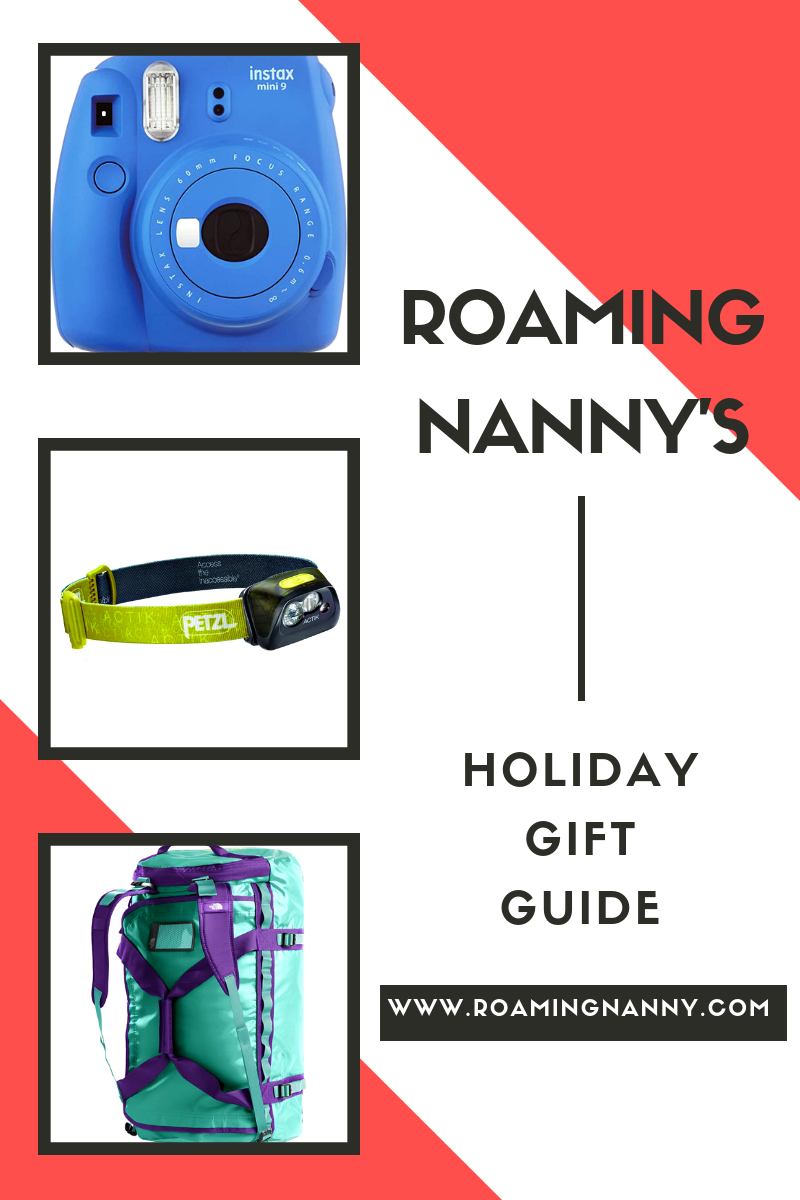 Roaming Nanny's Holiday Gift Guide for Travelers