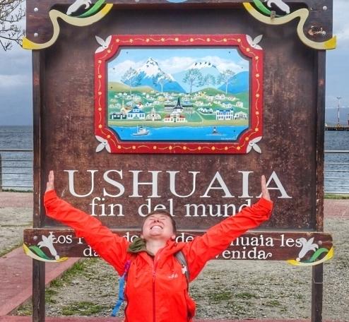 Ushuaia Sign Fin del Mundo