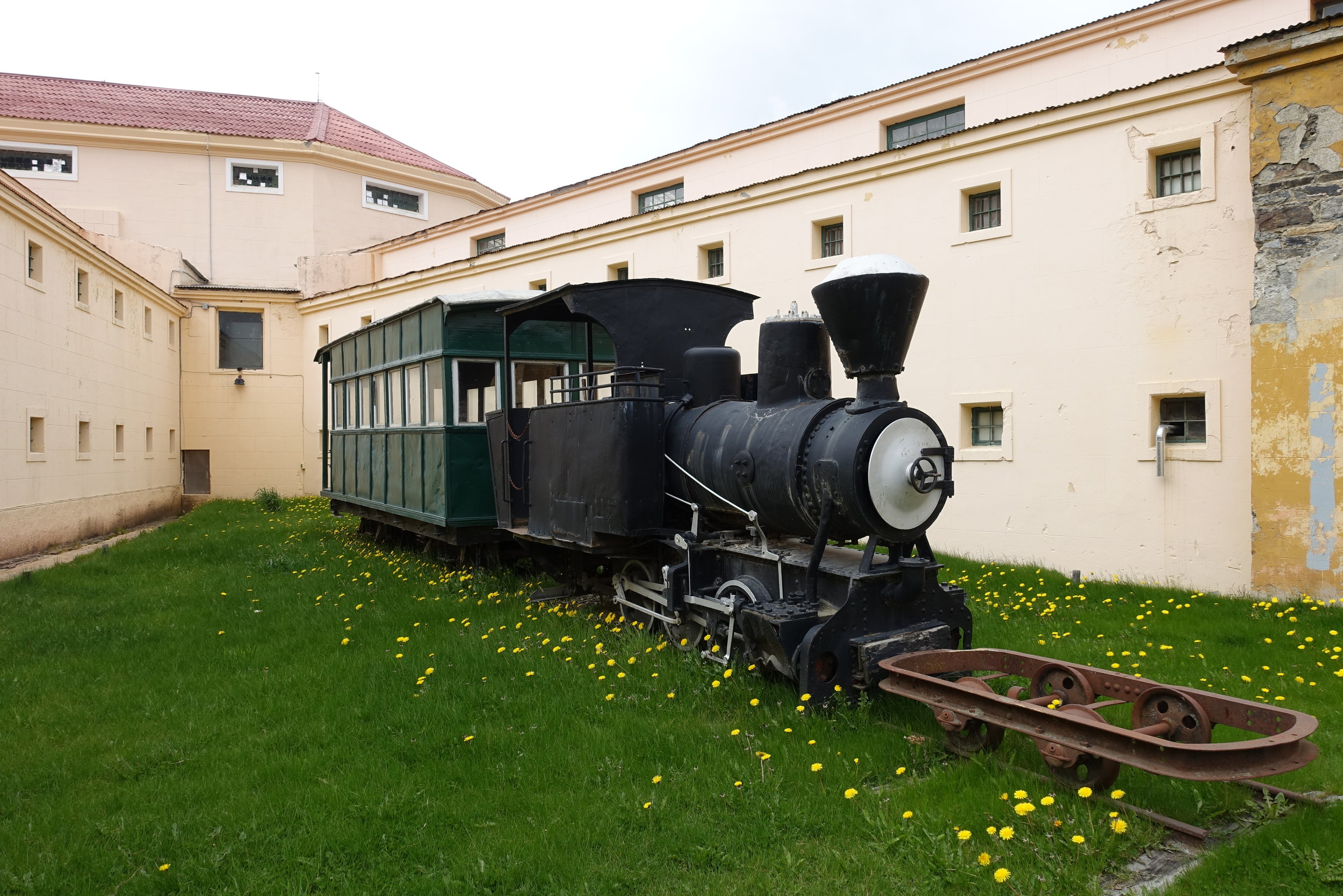 Original Train at the Prison Museum