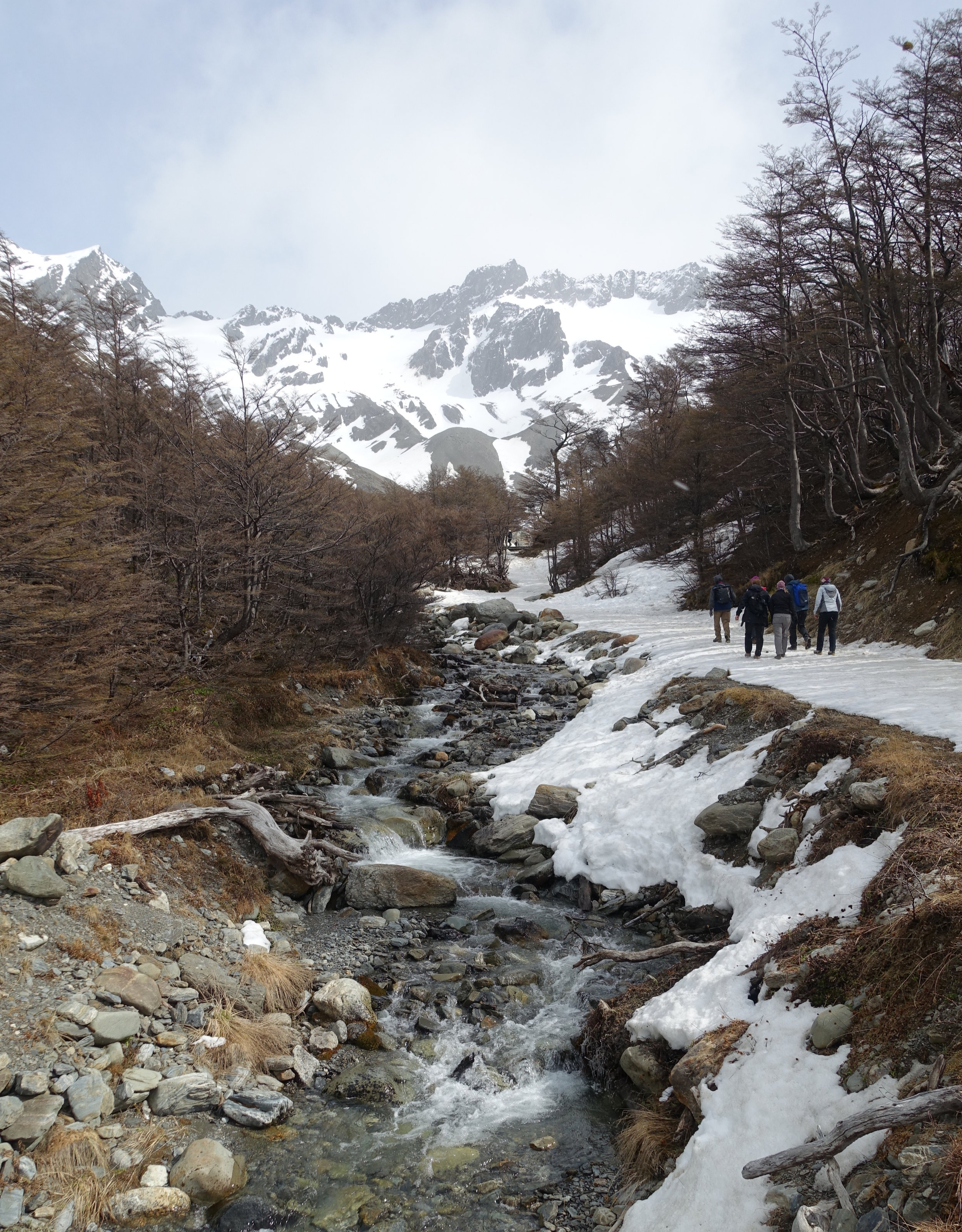 Visit Ushuaia Argentina Martial Glacier