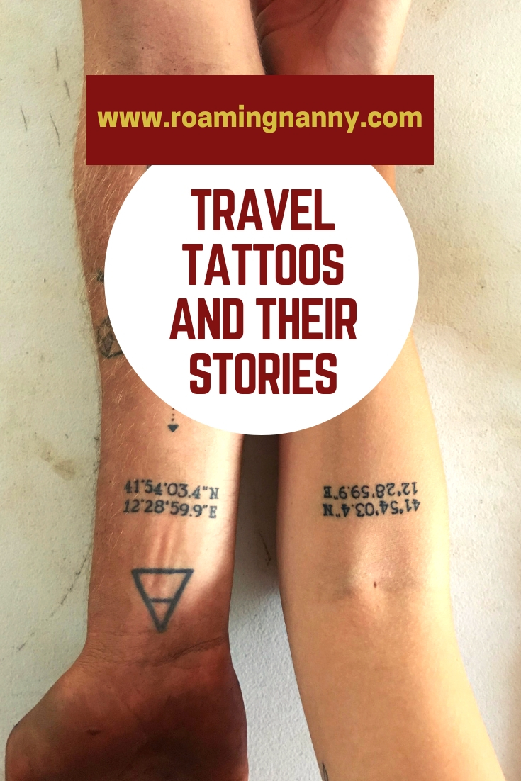 Travel Tattoos and their Stories