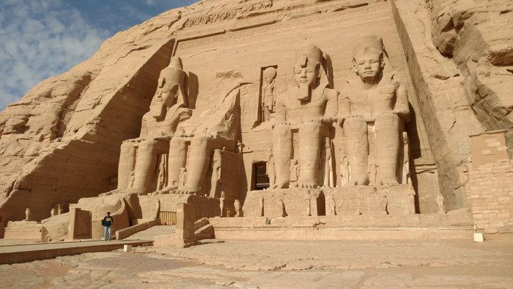Egyptian Temples Abu Simbel