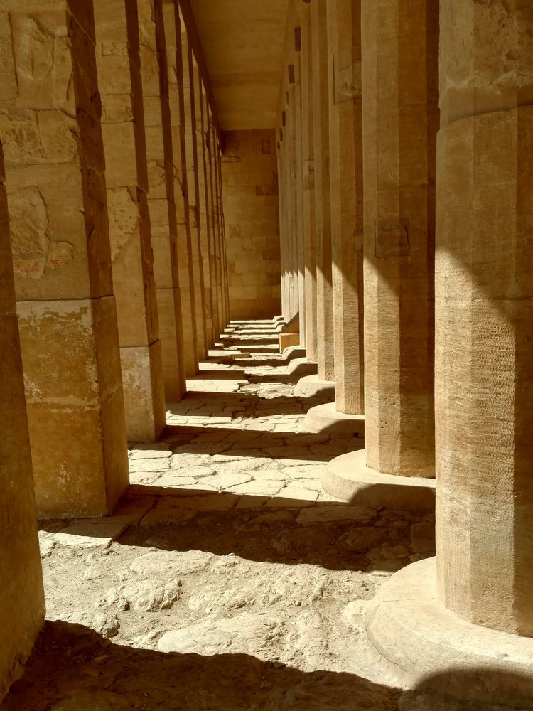 Temples in Egypt Mortuary Temple of Hatshepsut
