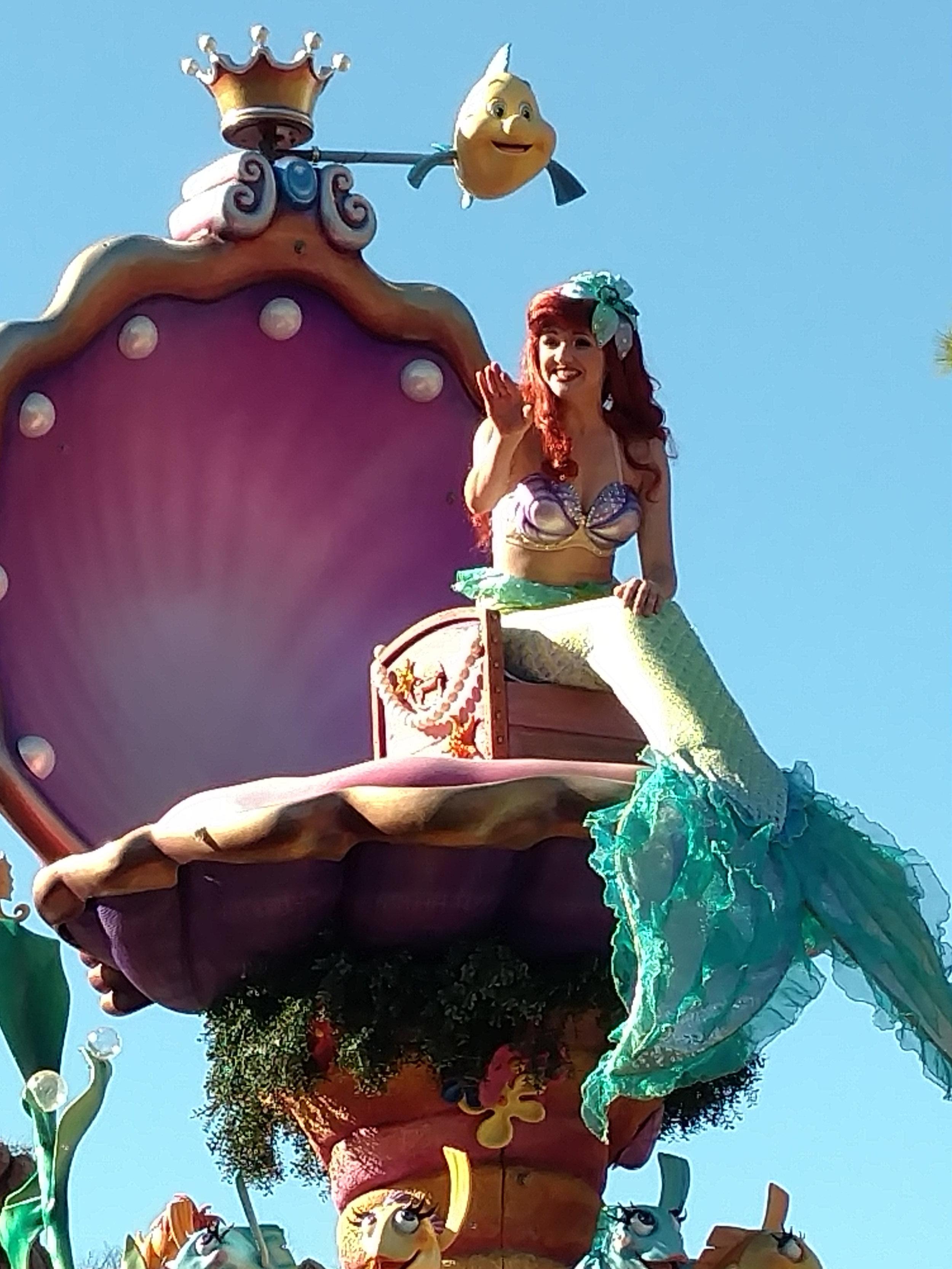 Little Mermaid - Disney Day bag