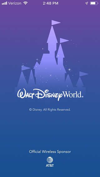 FastPass+ Guide My Disney Experience App