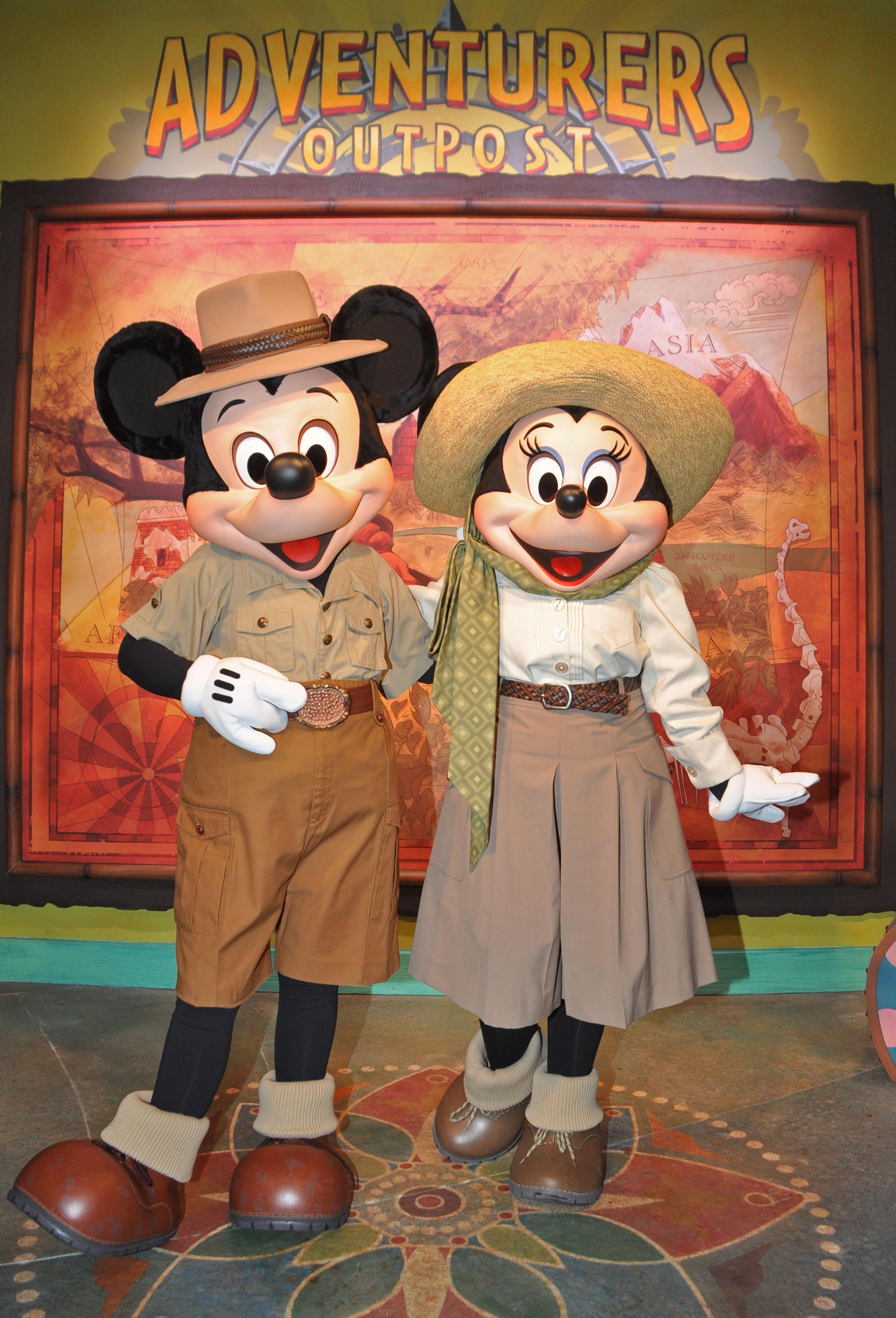 Meet Mickey and Minnie