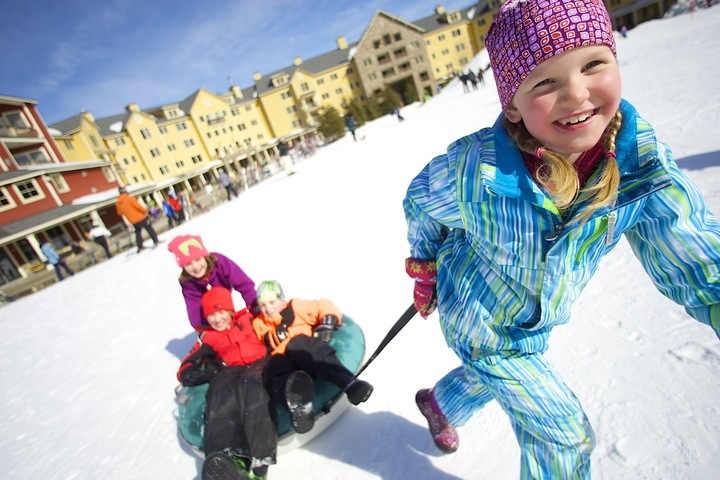 Things to do in Vermont - snowtubing