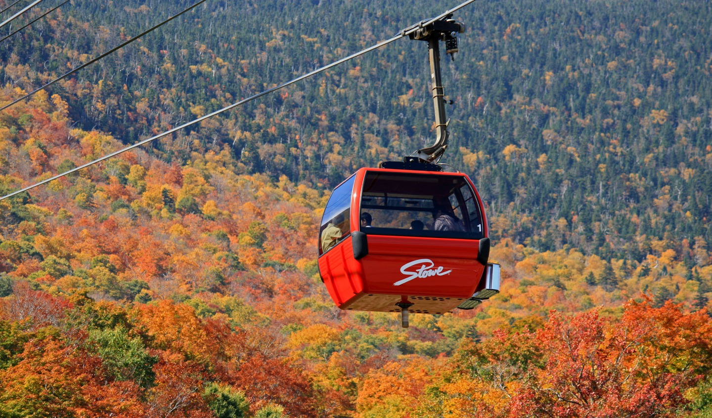 Things to do in Vermont - Stowe Gondola