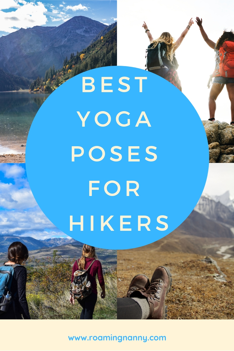 After a long day of hiking try out these yoga poses to stretch and sooth your body. #yoga #yogaforhikers #hike