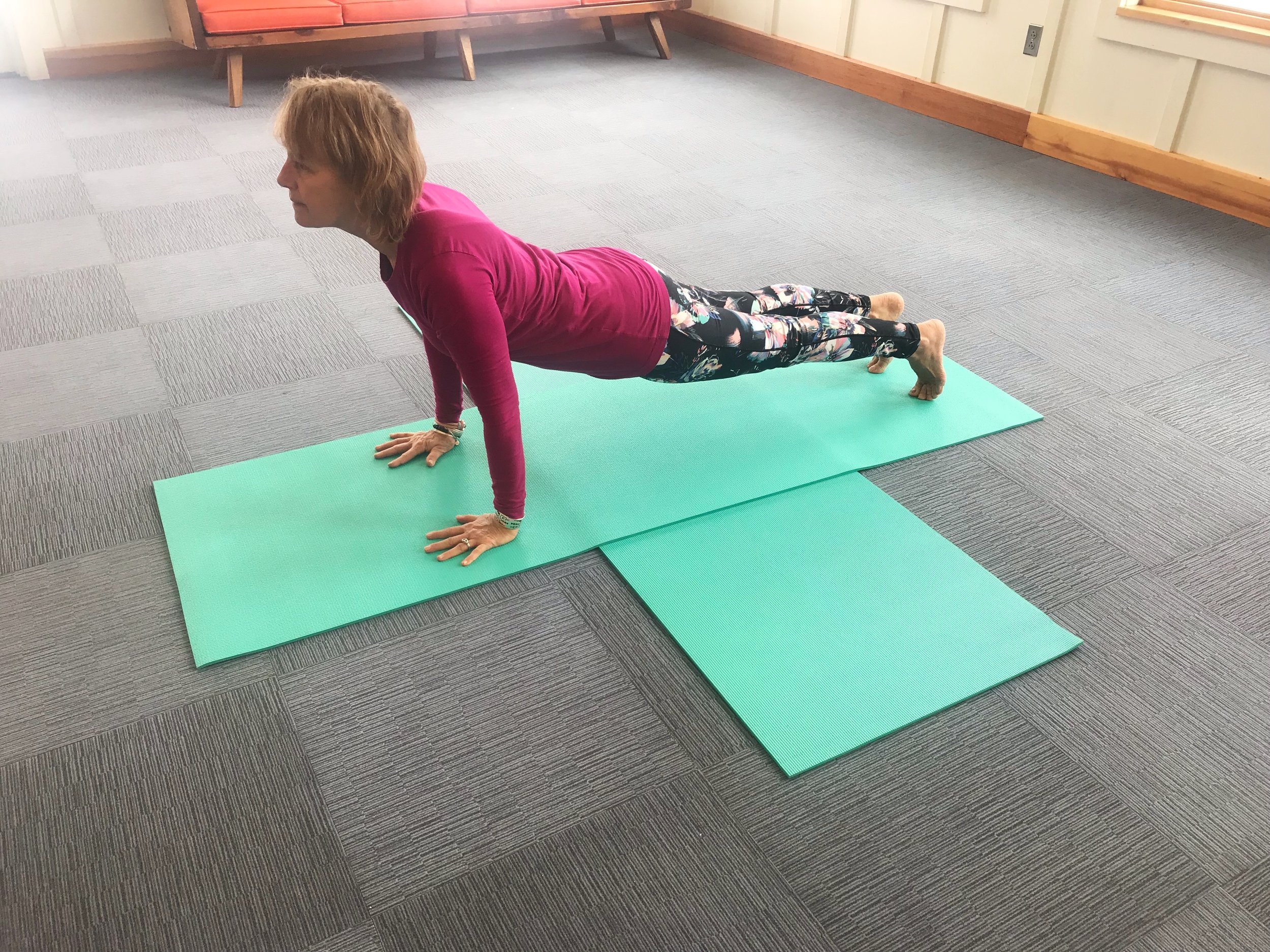 Yoga for Hikers - Plank