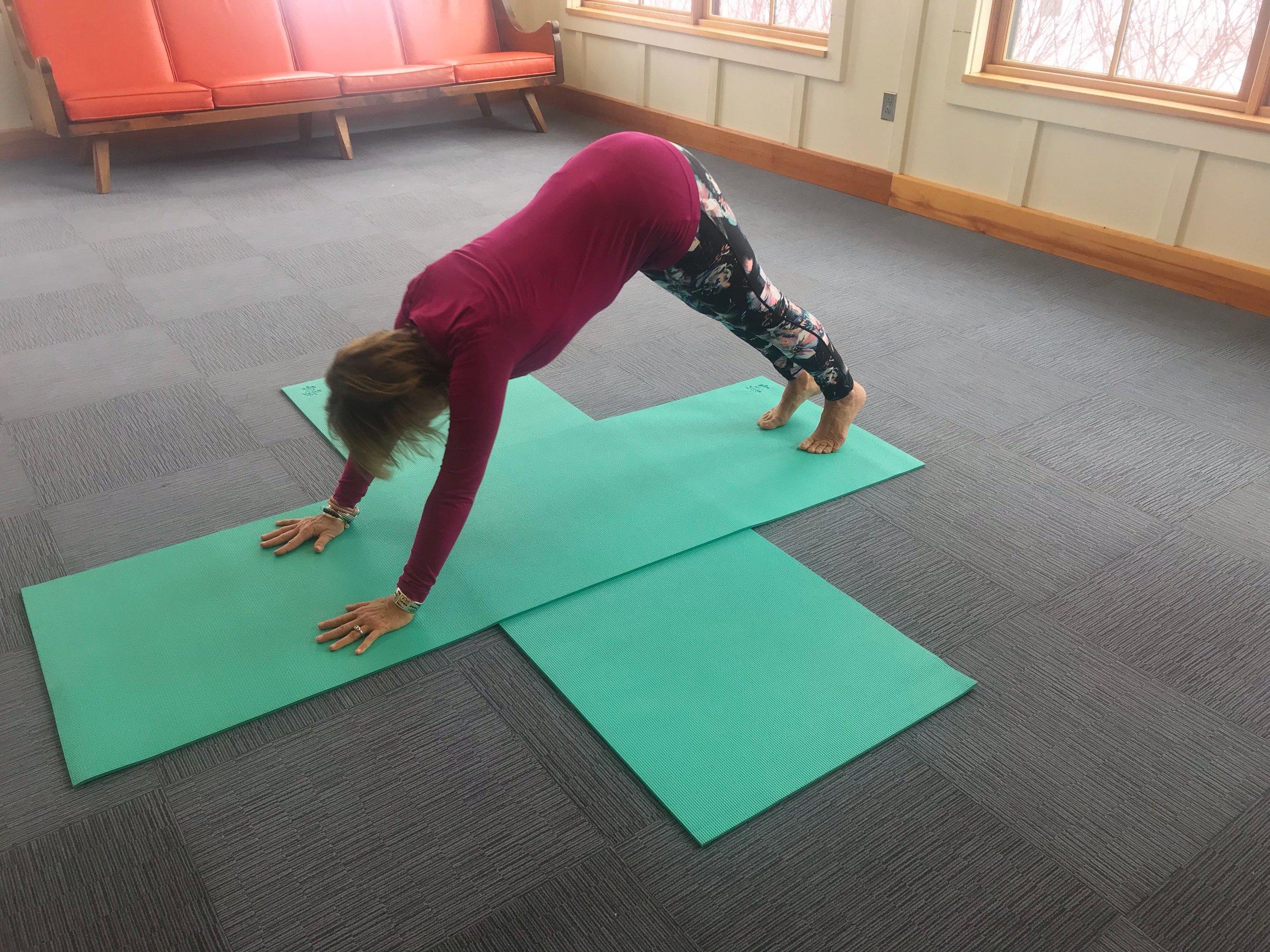 Yoga for Hikers - Downward Facing Dog