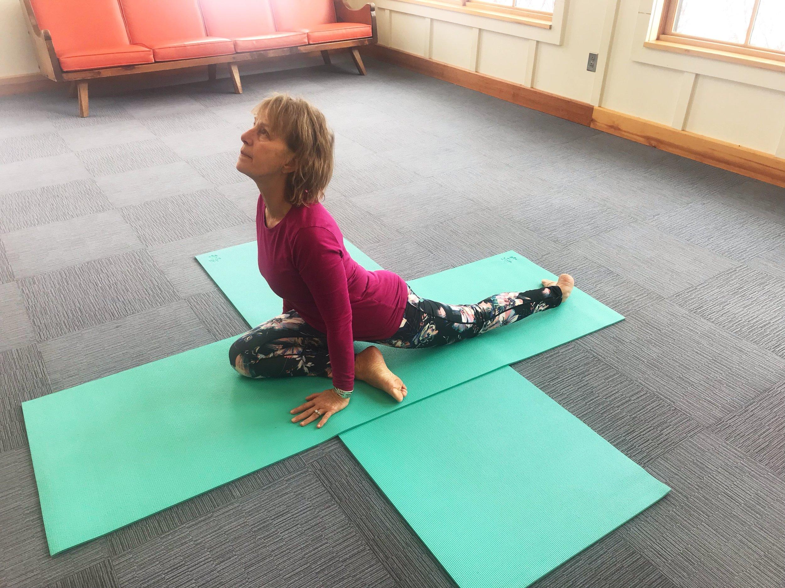 Yoga for Hikers - Pigeon Pose