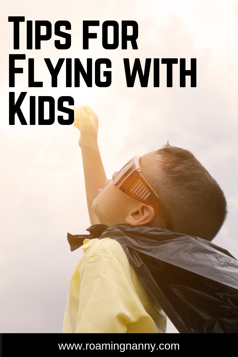 Flying with kids can be a challenge. Here are some tips to make it easy on the whole family. #flying #airplane #travelwithkids
