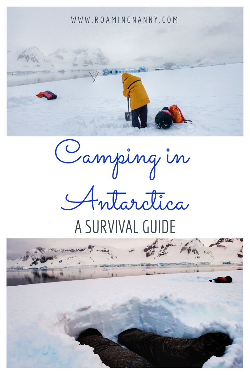 Camping in Antarctica is a once in a lifetime opportunity. Here is my personal account of my night on the 7th continent. #antarctica #camping #snow #coldweathercamping