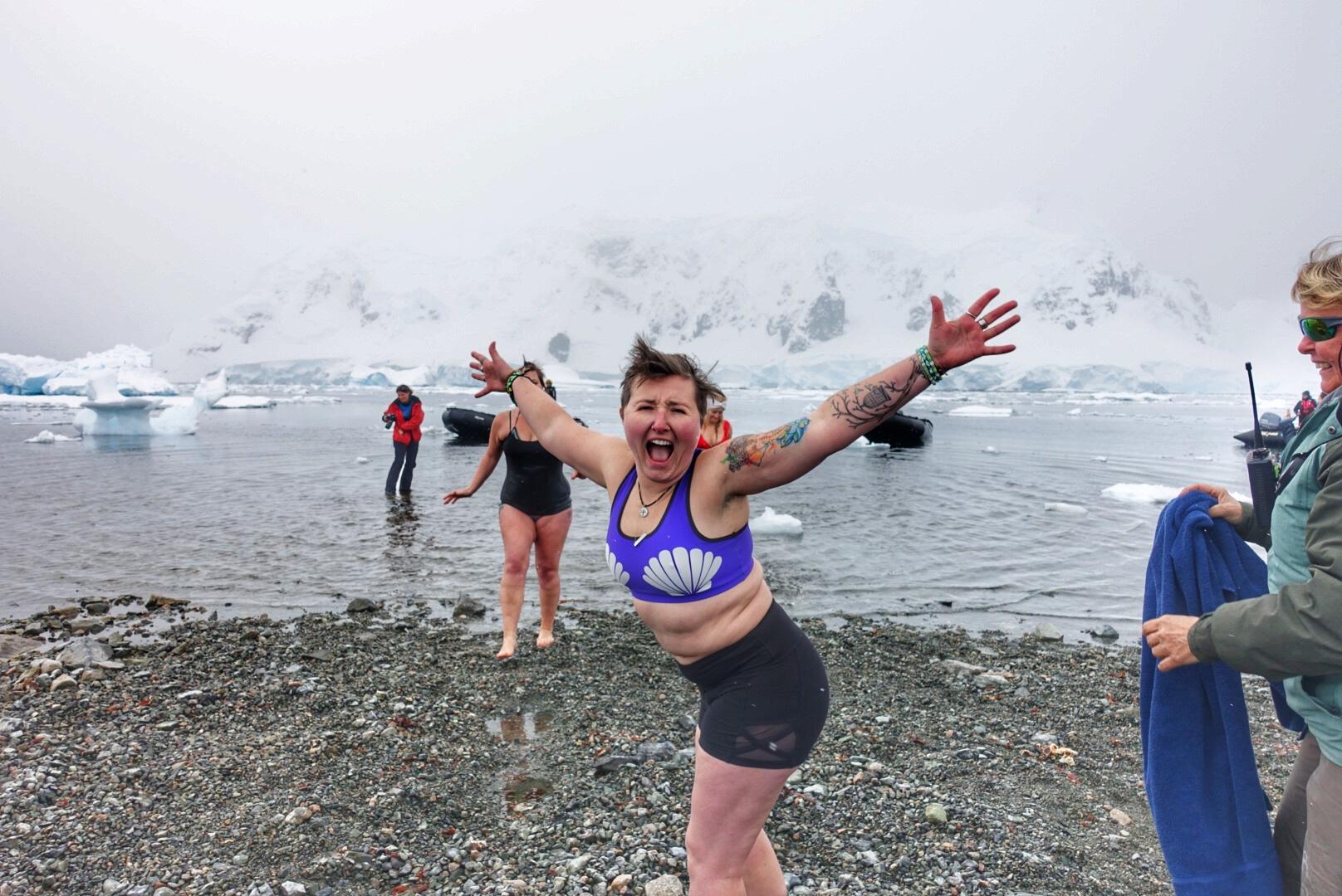 Antarctica Polar Plunge