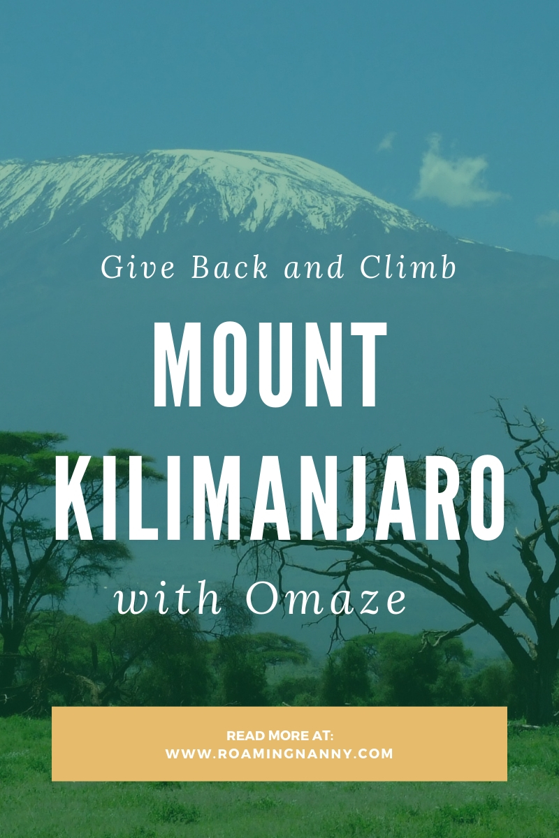 Climbing Mount Kilimanjaro can be life changing, and with Omaze it can change more that just your life. #omaze #mountkilimanjaro #climbkili #amanichildrenshome