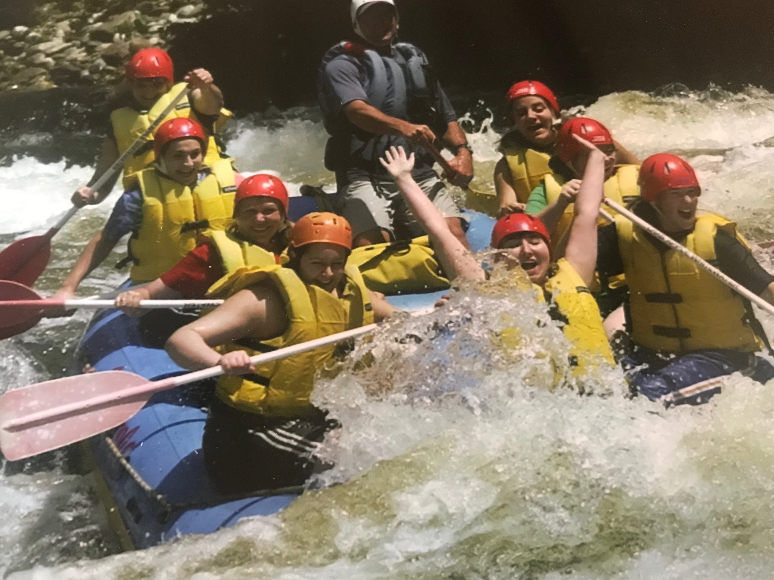 Girl Scout Adventures Whitewater Rafting