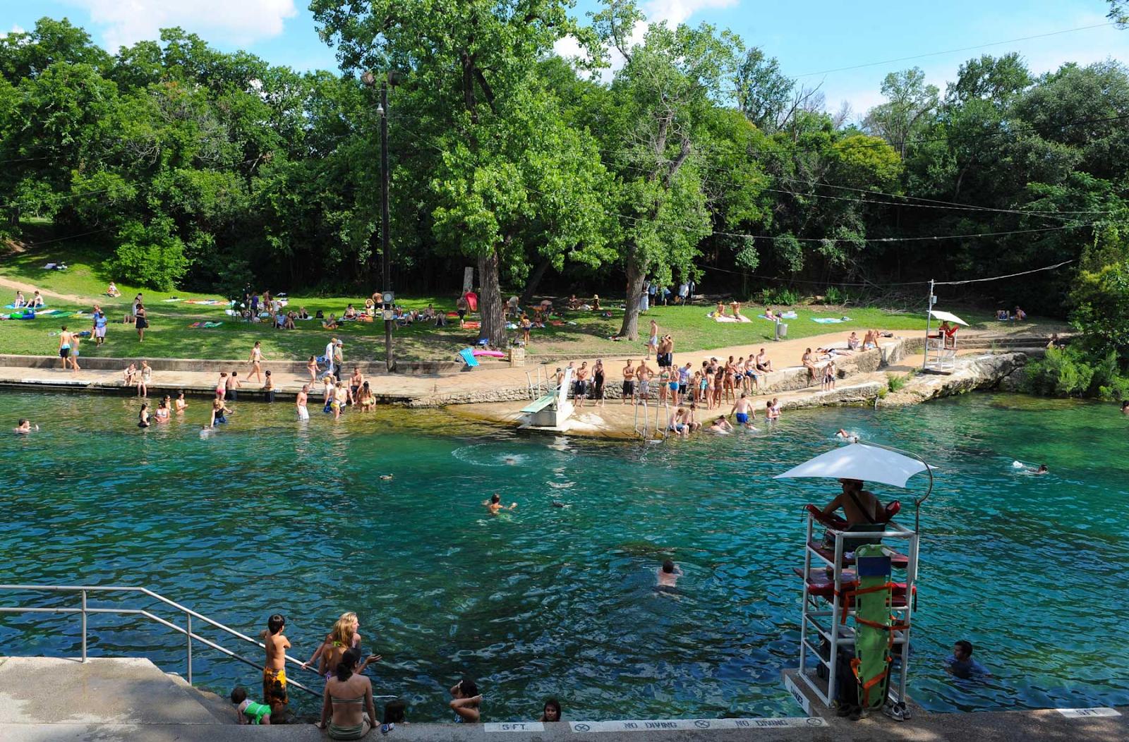 Things to do in Austin, Texas - Barton Springs Pool