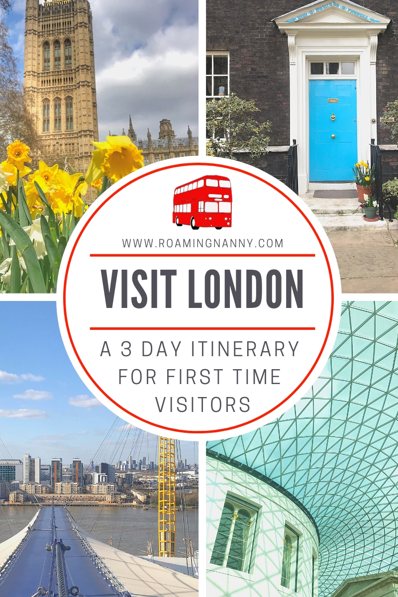 London is a must visit destination for travelers. Here's a 3 day itinerary to help you make the most of your time there! #london #unitedkingdom #visitlondon #firsttimevisitors #itinerary