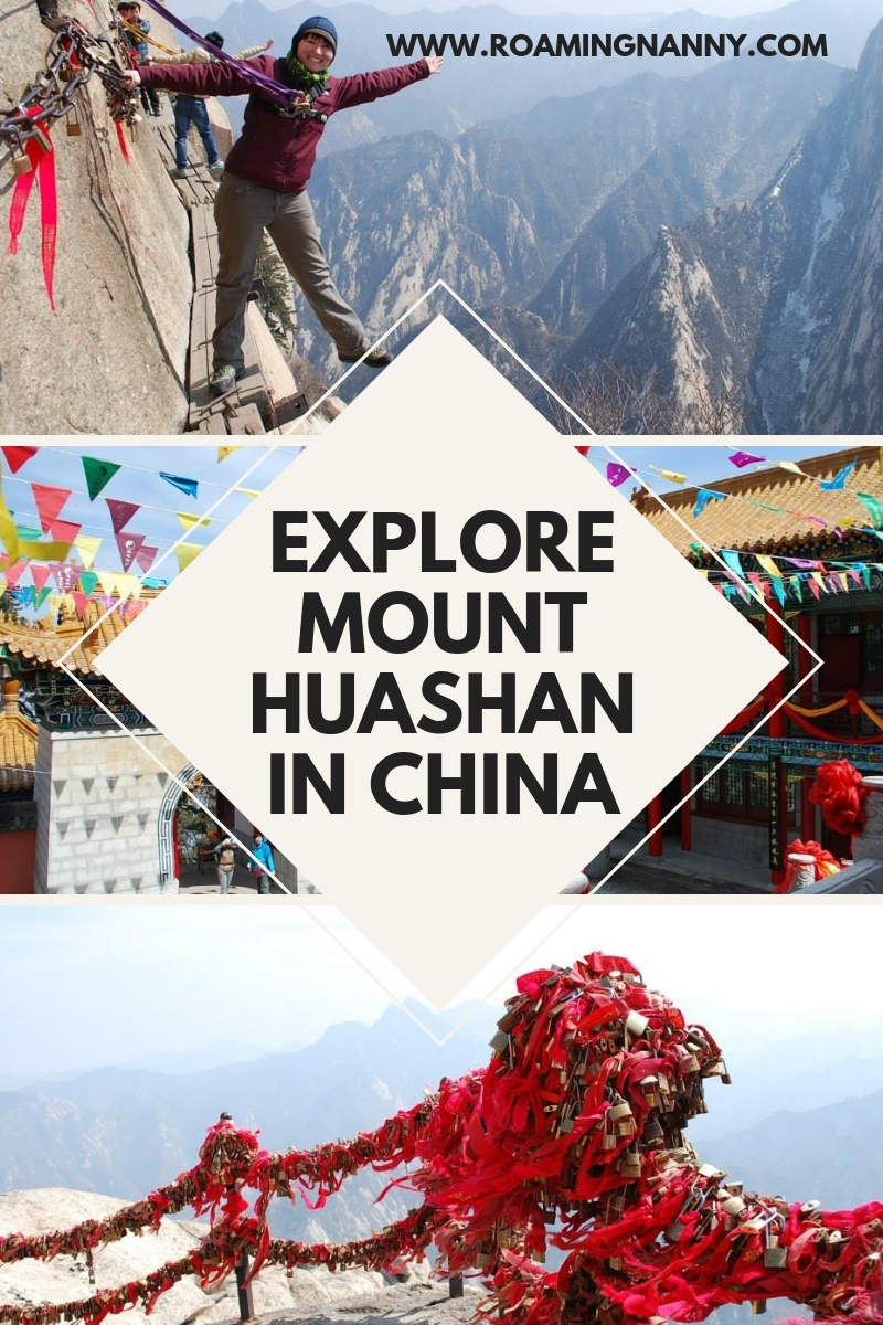 Mount Huashan and the Plank Walk in the Sky are located just outside of Xi'an China ready to explore. #china #plankwalkinthesky #haushaun