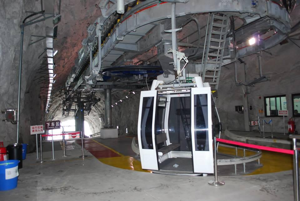 Mount Hua China Gondola