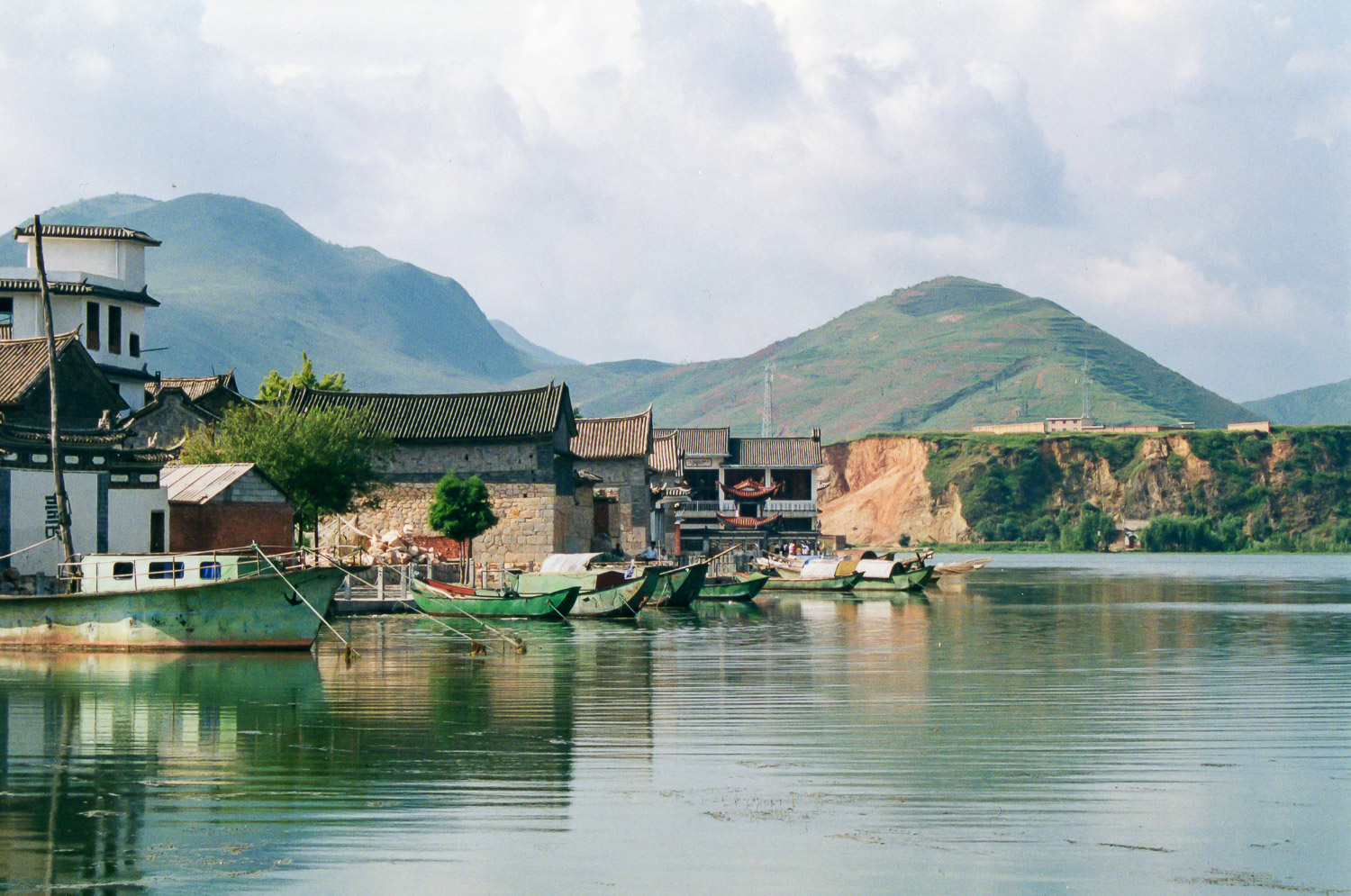 Lake Erhai in Dali, Yunnan Province, China