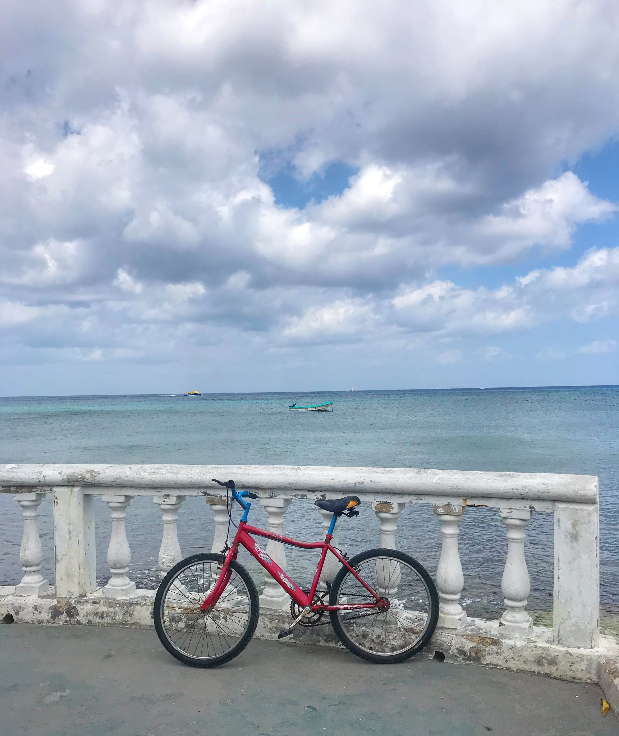 Rent a Bike during your visit to Cozumel Mexico