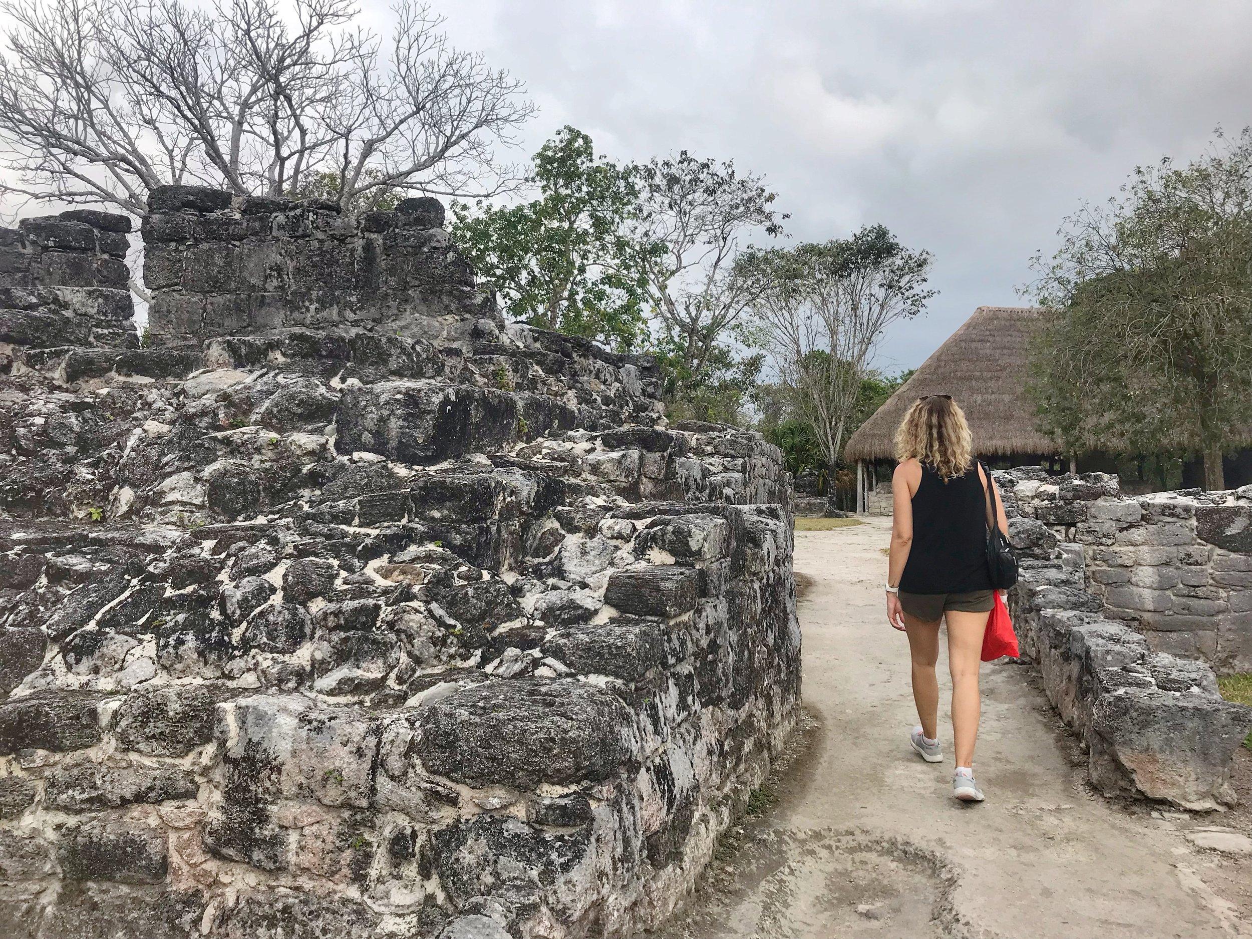 San Gervasio Mayan Ruins Cozumel Mexico