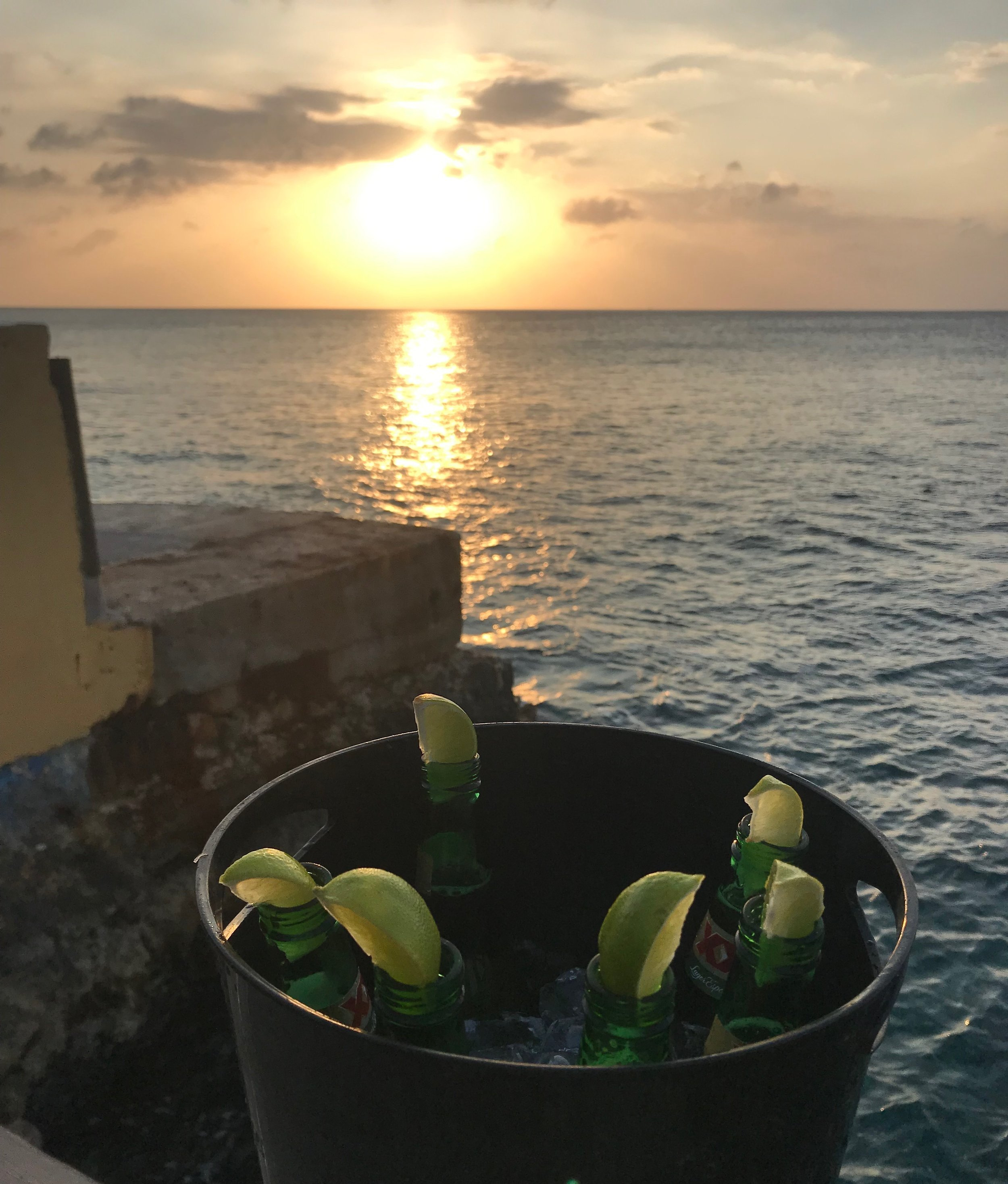 Things to do in Cozumel Mexico - watch a sunset