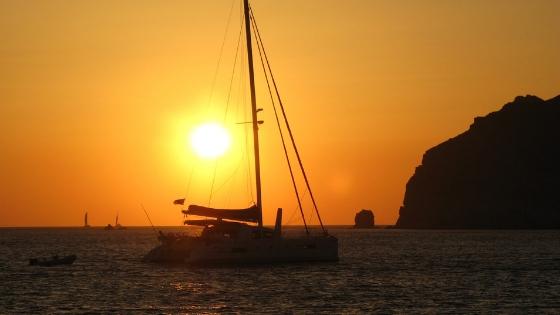 Sunset Catamaran Cruise Cozumel Mexico
