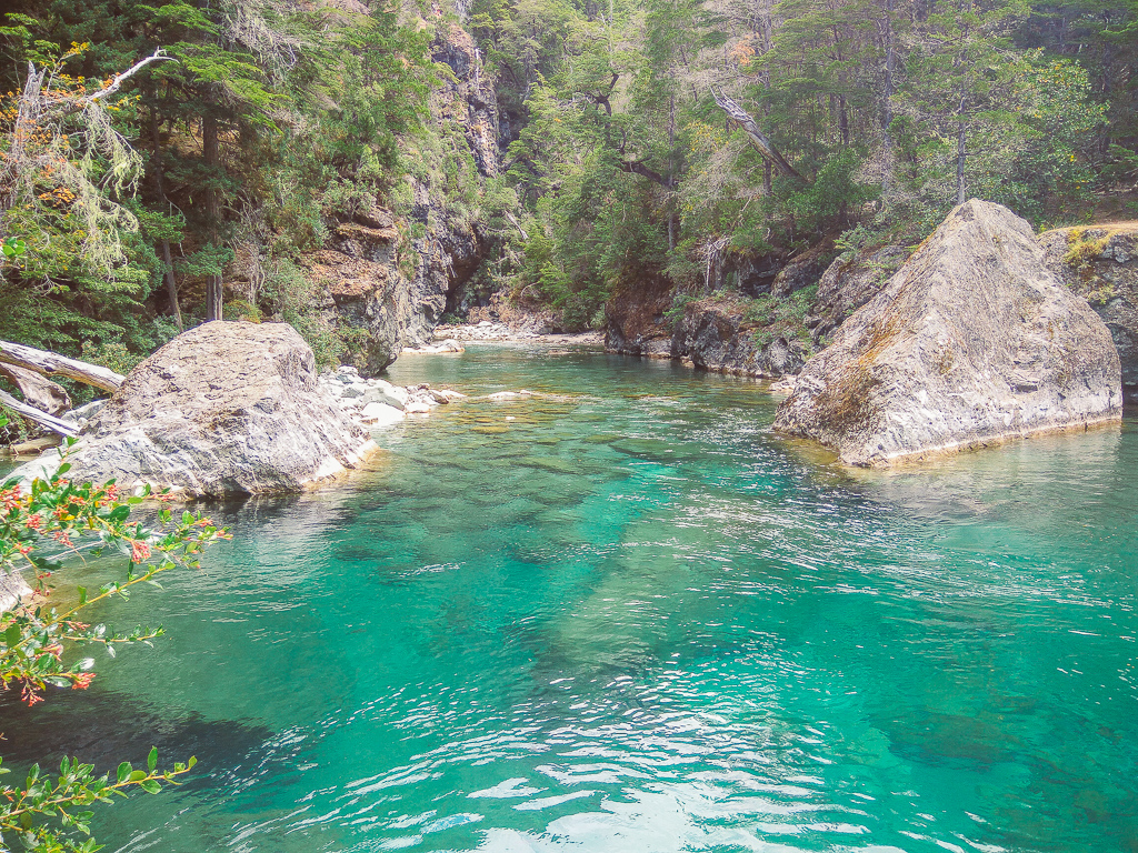 Best Places to visit in Argentina Azul River El Bolson