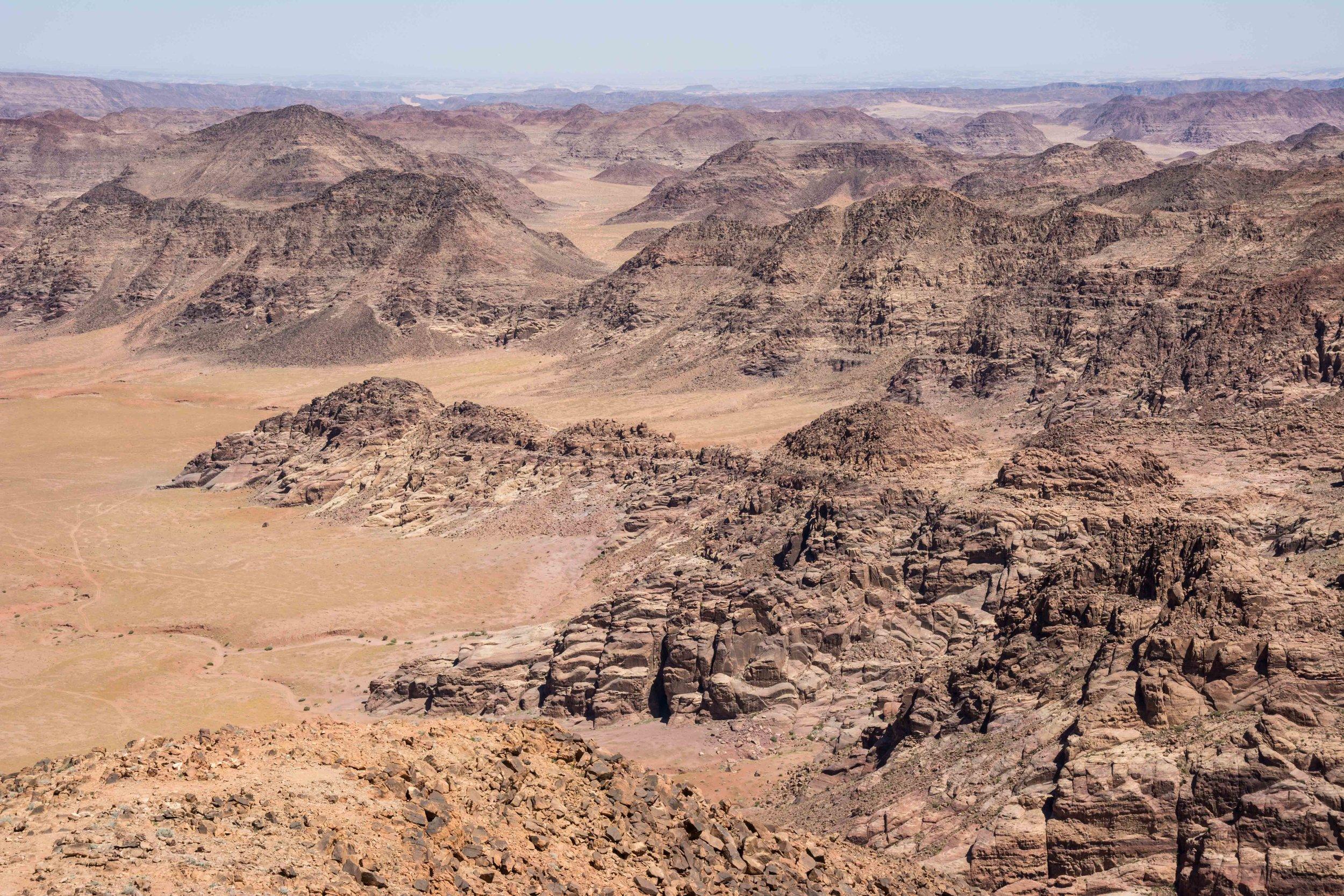 Desert Canyons Wadi Rum Jordan
