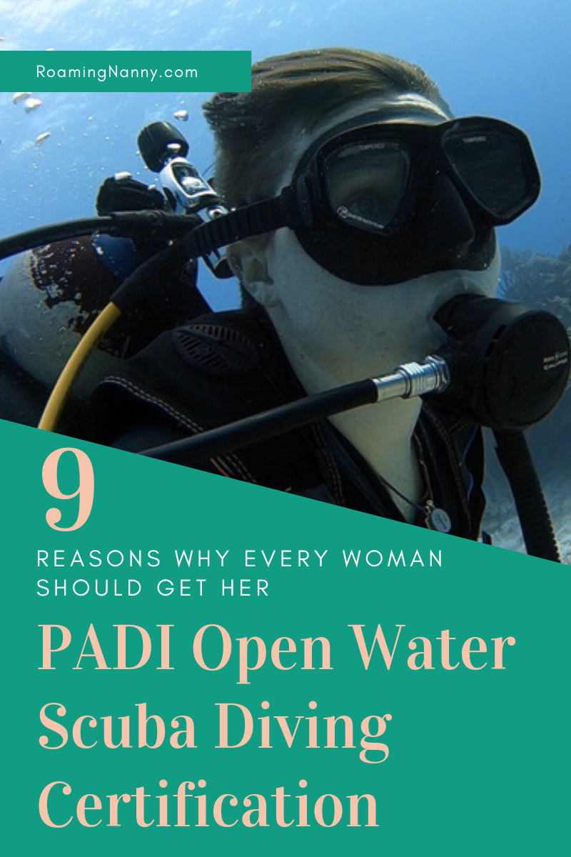 Every women needs to dive in and get her PADI Open Water Certification. Women can do anything so start scuba diving! #scuba #scubadiving #underwater #