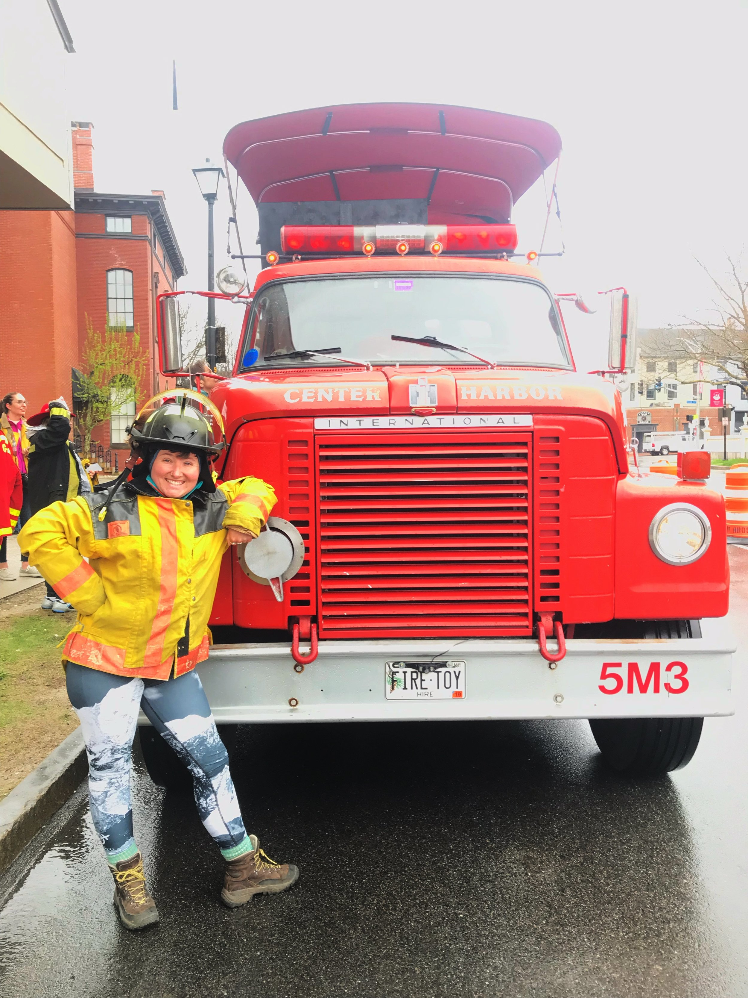 Portland Fire Engine Tours Maine