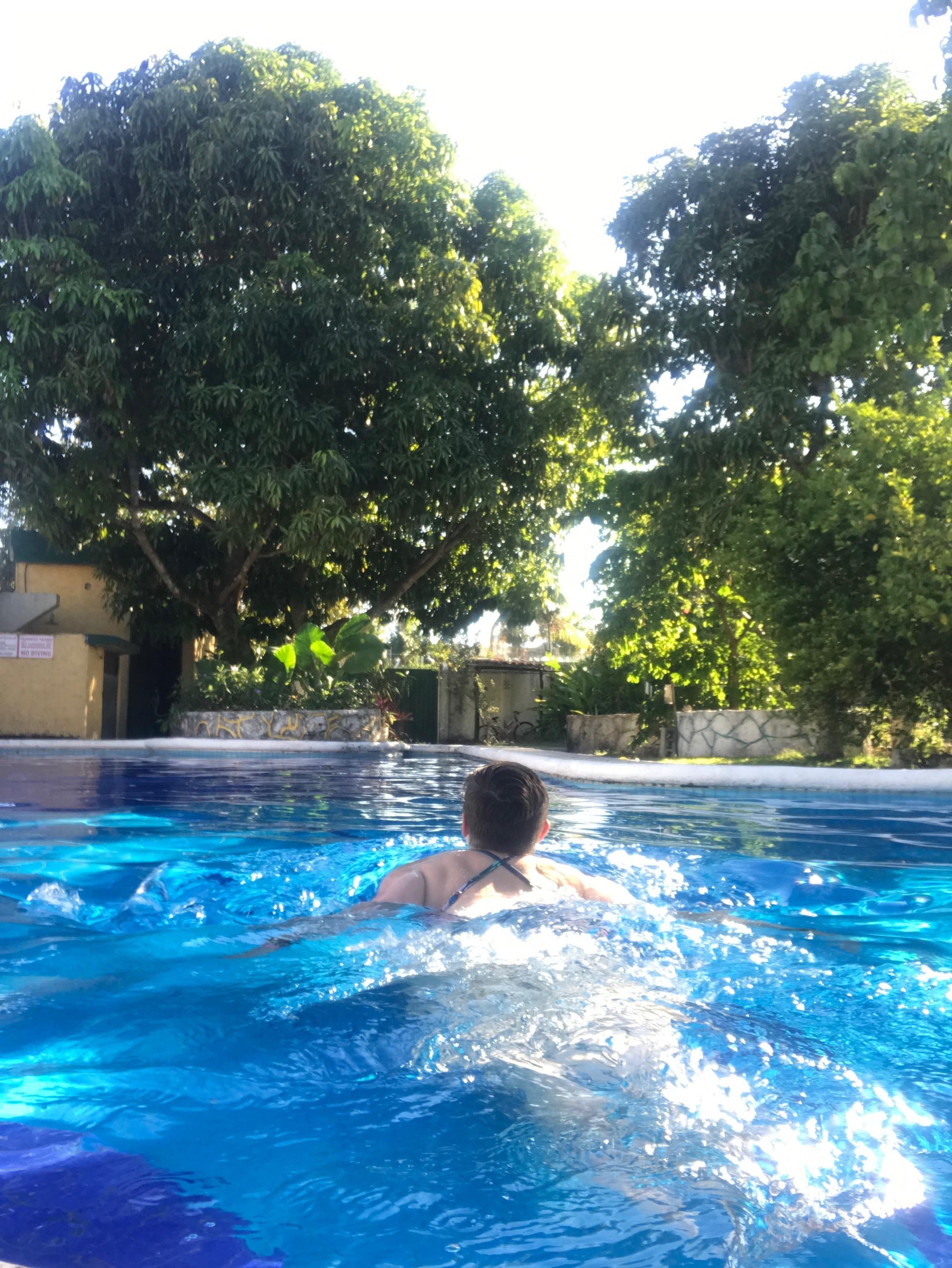 Amigos Hostel Cozumel Pool