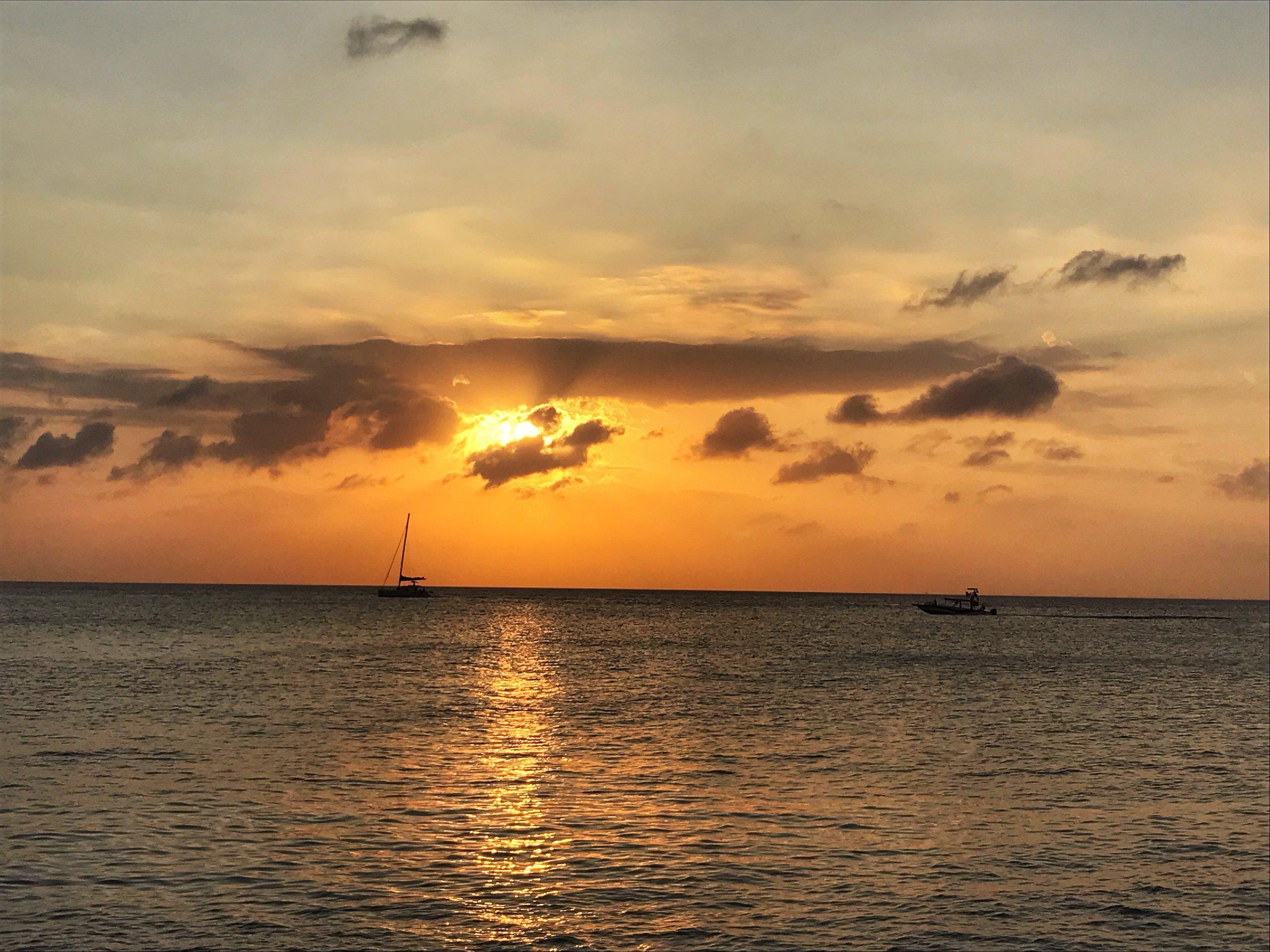 Cozumel Mexico Sunset