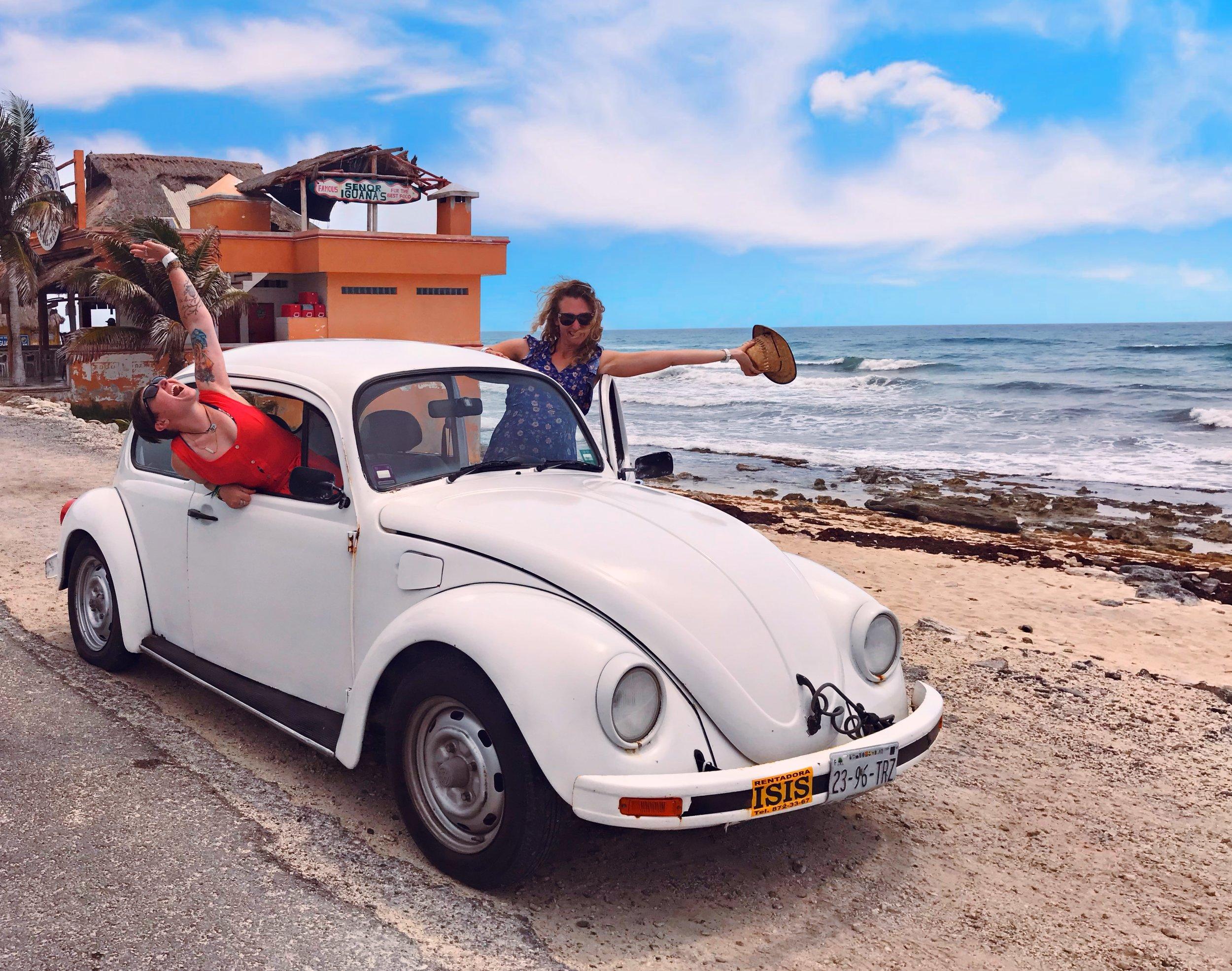 Road Trip in Cozmuel, Mexico