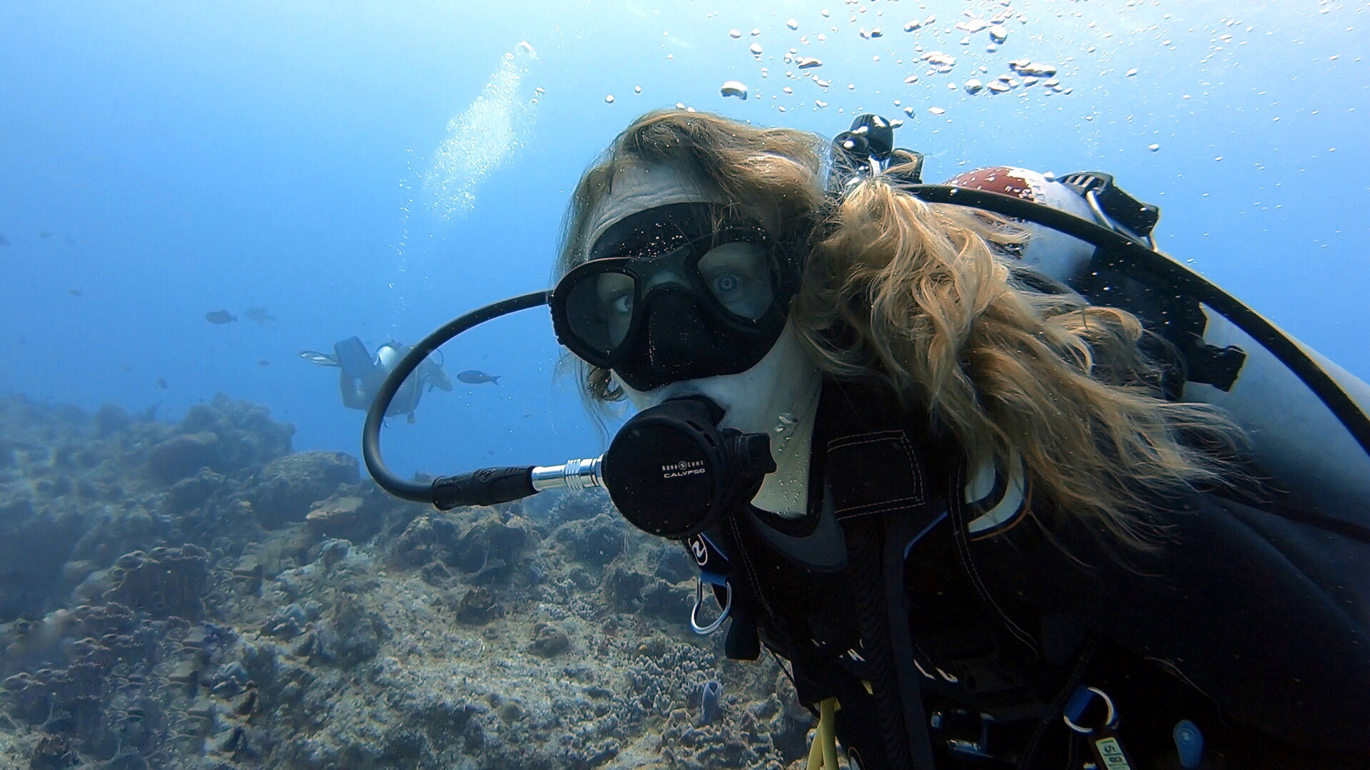 Scuba Diving with Claire in Cozumel Mexico