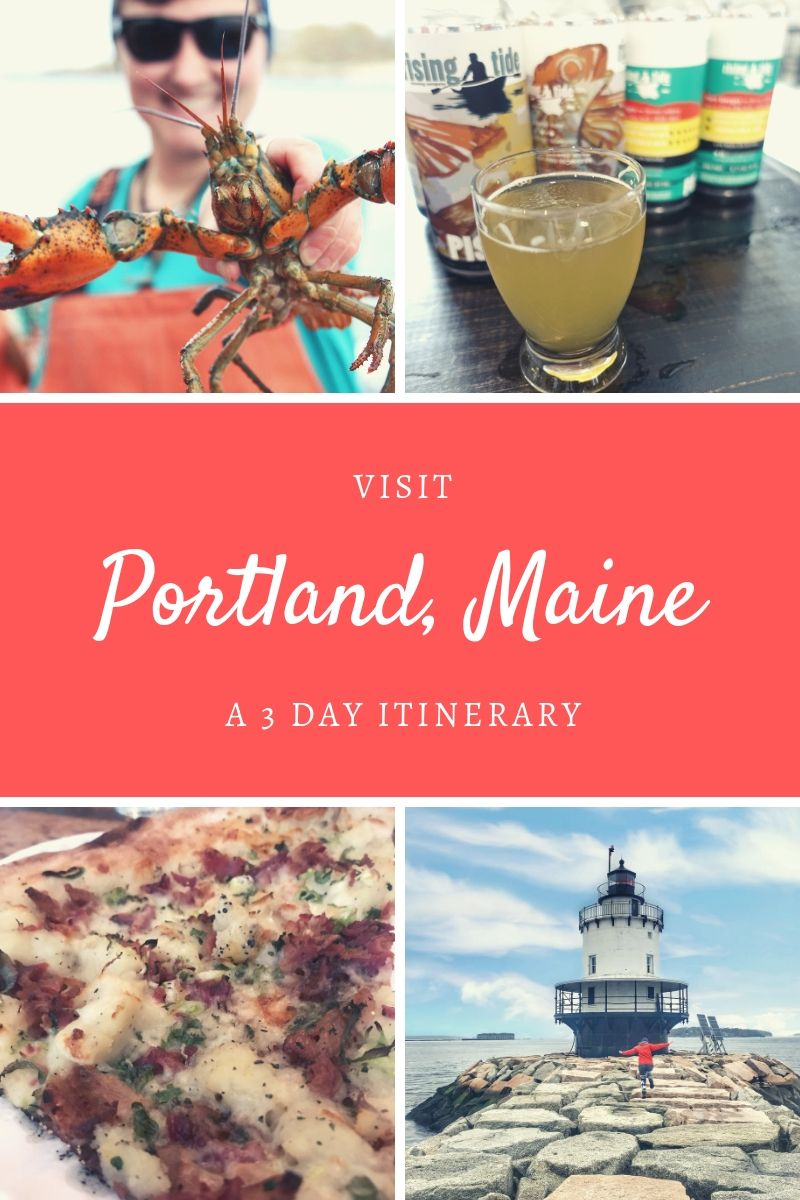 Portland, Maine has over 500 restaurants, around 140 islands off it's coast, and I guarantee you'll fall in love with it's history and cobblestone streets. #portland #portlandme #portlandmaine #visitportland #visitmaine #lobster