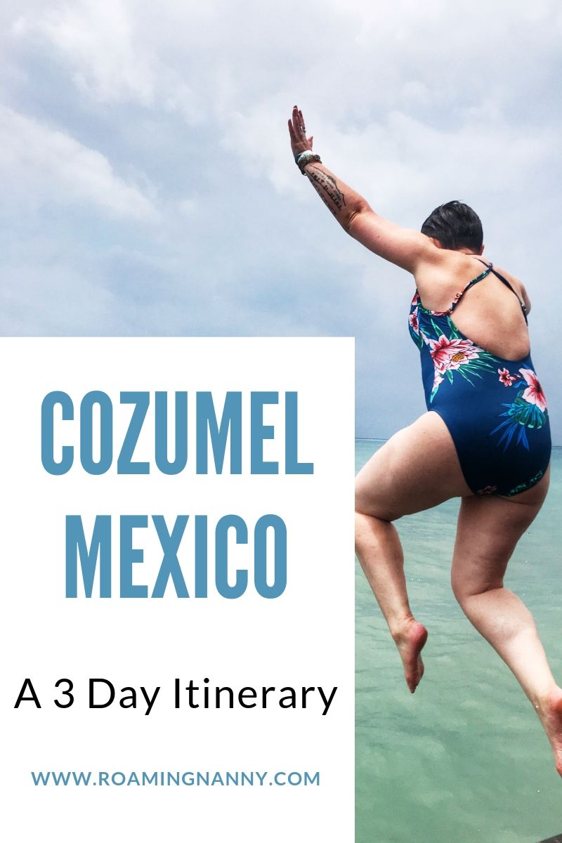 Cozumel, Mexico is an island paradise located off the Yucatán peninsula. With Plenty to do above and below the water, it's more than a cruise ship destination. #cozumel #mexico #cozumelmexico #centralamerica #scuba #roadtrip #atving #beach