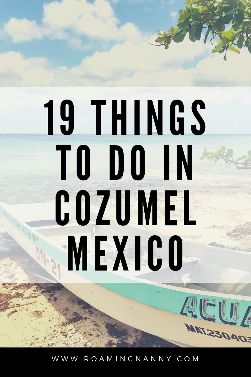 Cozumel, Mexico is more than a cruise destination with amazing scuba diving, plenty of adventure, and amazing food. #cozumel #mexico #paradise #island #thingstodo #visitmexico