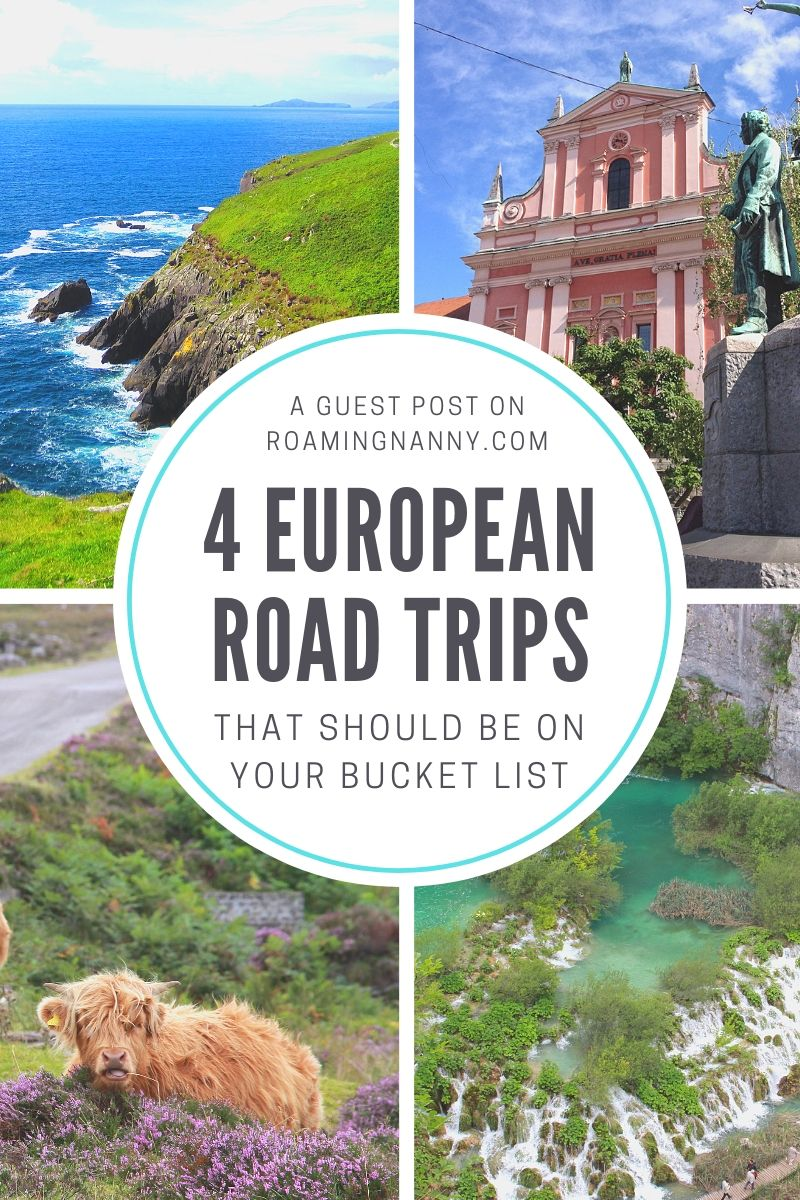 4 European Road Trips that should be on your Bucket List #europe #roadtrip #eiropeanroadtrip #bucketlist #bucketlisttrip